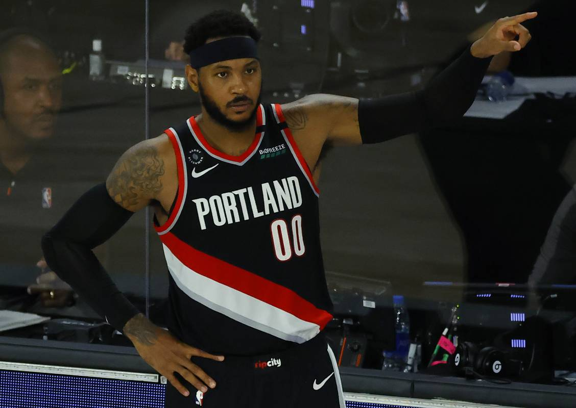 Carmelo Anthony, now with the Portland Trail Blazers, has enjoyed a Hall of Fame-caliber career.