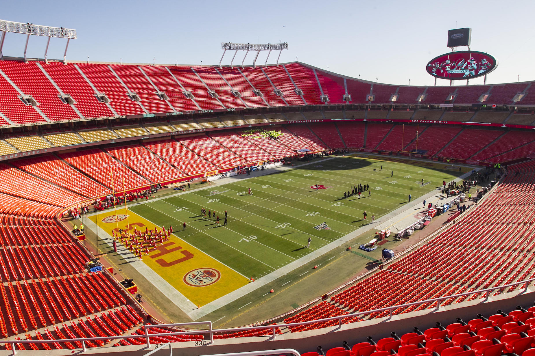 Based on the Kansas City Chiefs open practice, having in-stadium NFL fans will be easier said than done in 2020.