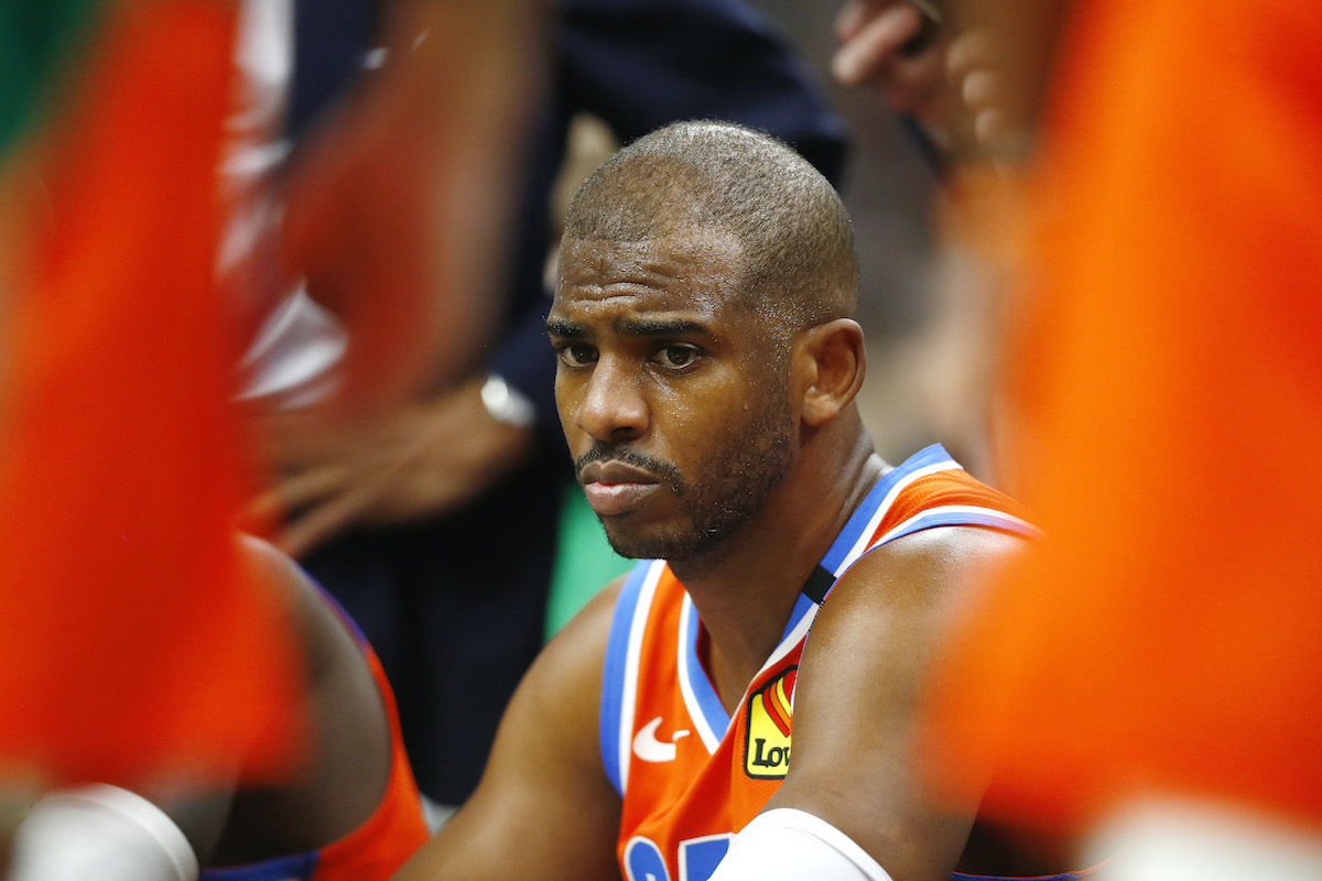 The Thunder's Chris Paul