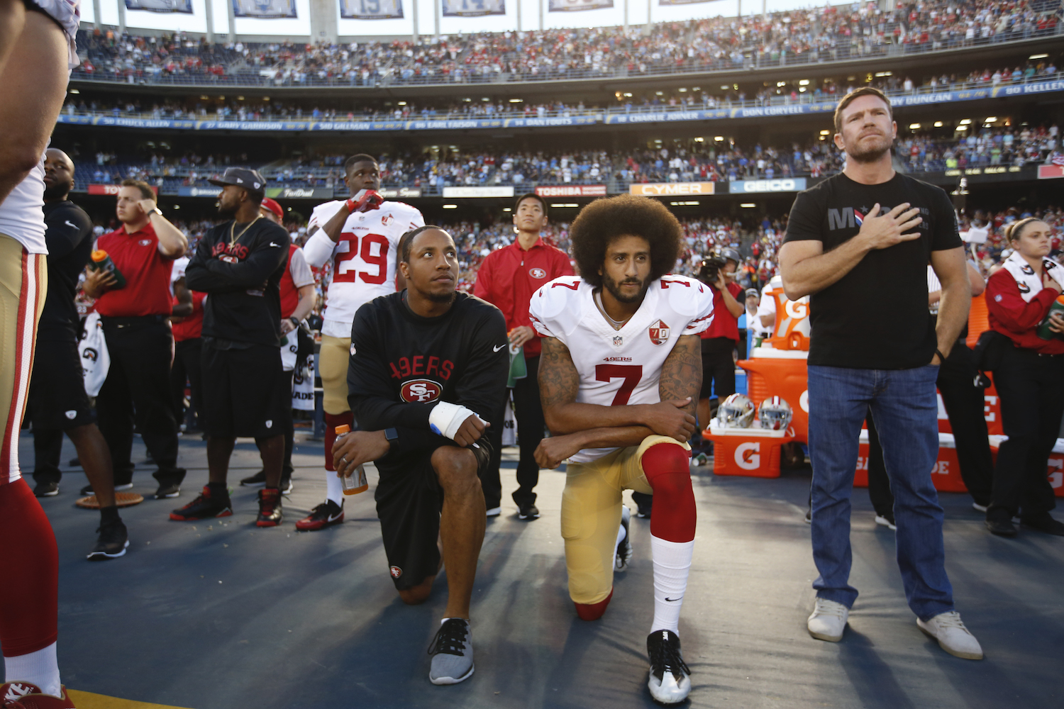 Colin Kaepernick First Protested Police Brutality 4 Years Ago Today