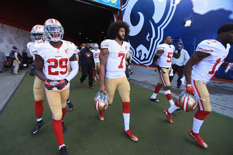 Colin Kaepernick should be proud of how NFL helmets look this season.