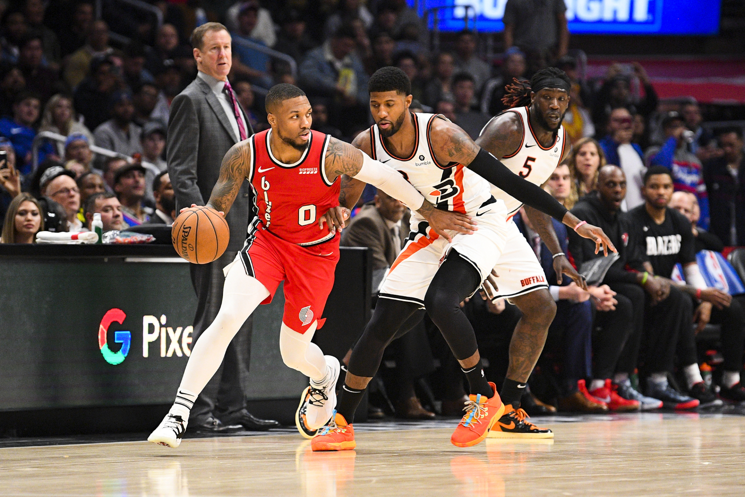 Damian Lillard and Paul George have both had a lot of success in the NBA, but which superstar has a higher net worth?
