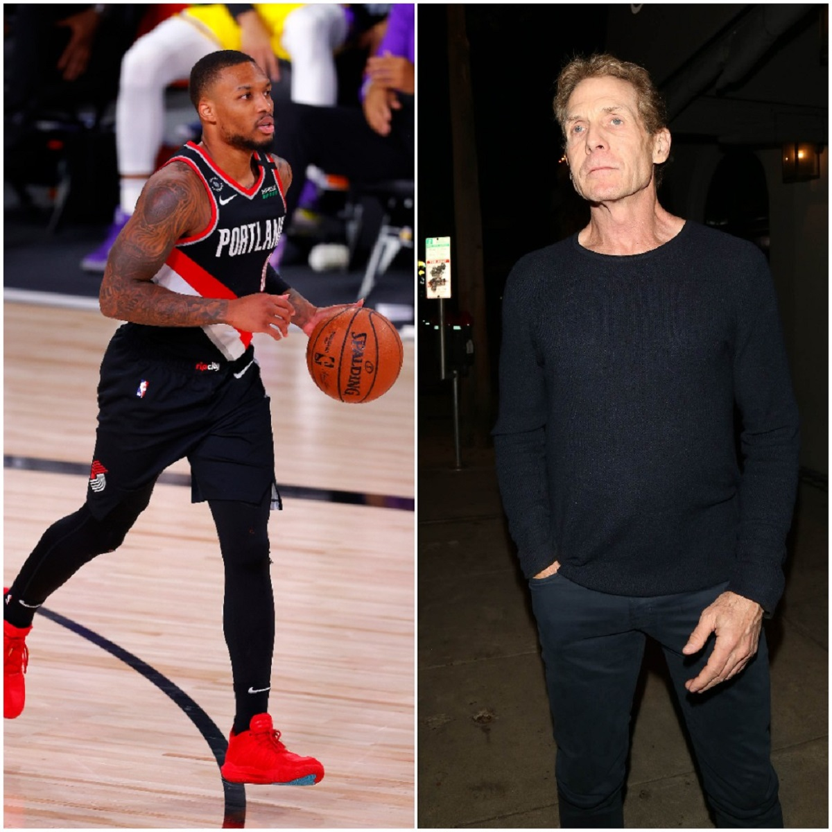 Skip Bayless Continues to Look Foolish in His Feud With Damian Lillard