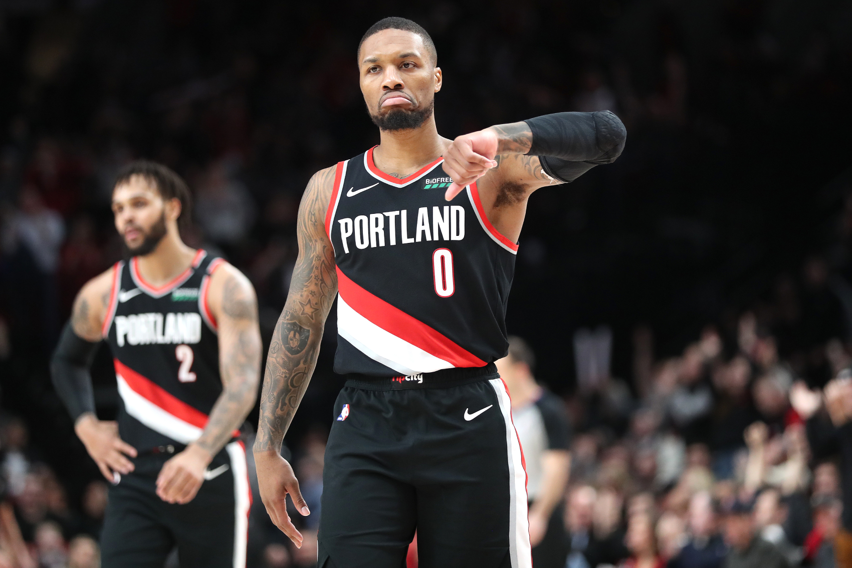 Damian Lillard Blasts Skip Bayless After Feuding With Paul George And Dropping 51 Points On The 76ers
