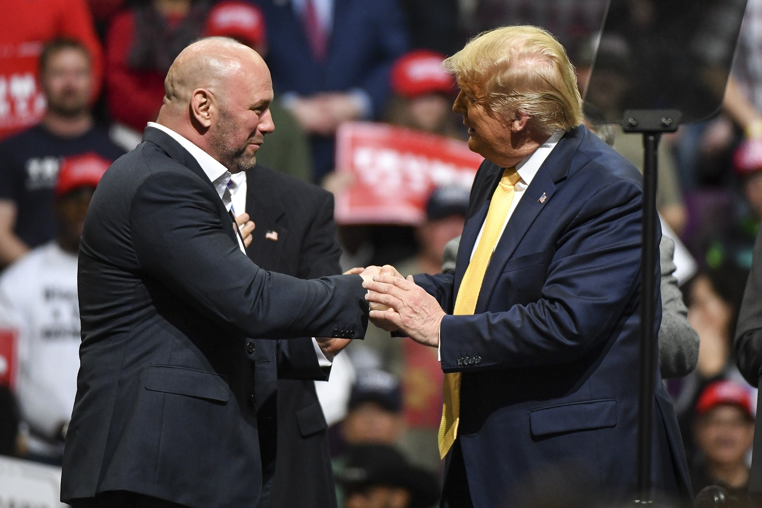 Donald Trump Just Got the Ultimate Support from Dana White