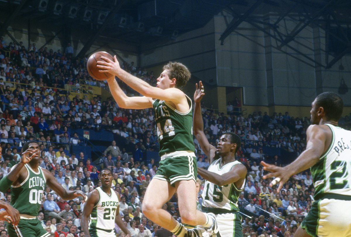 Boston Celtics' Danny Ainge