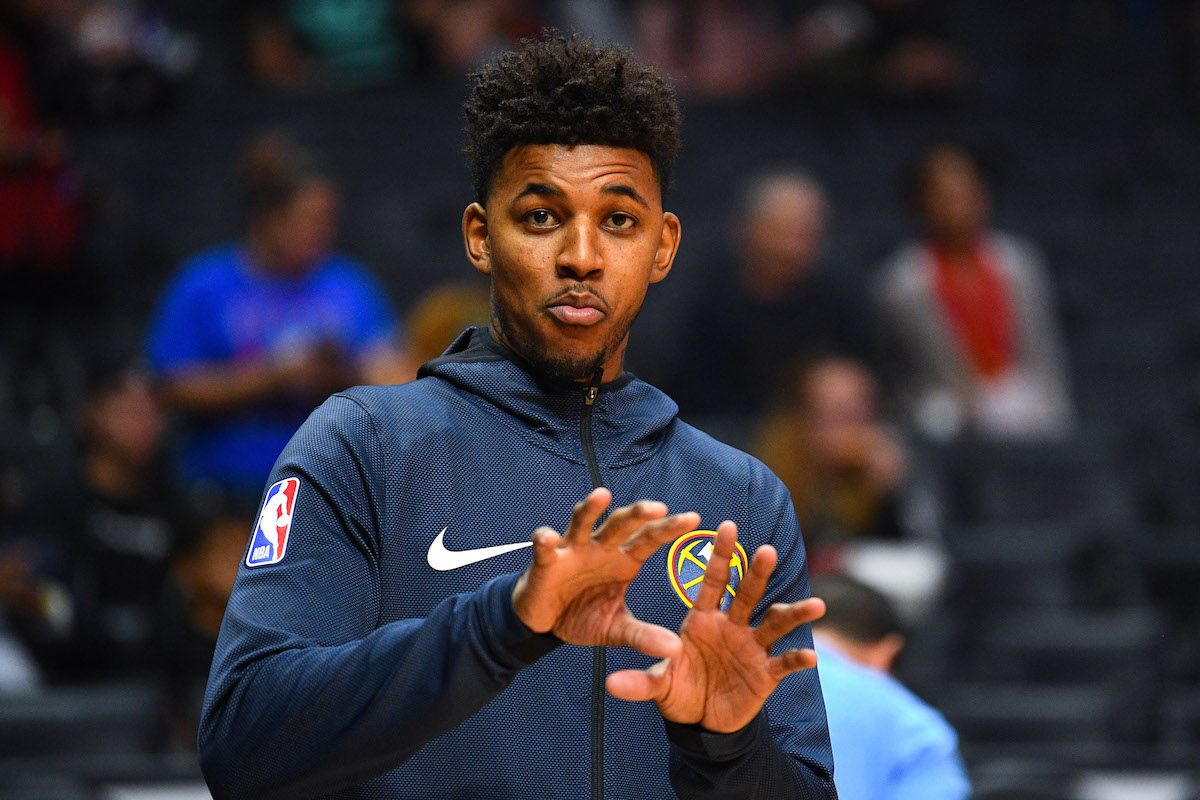 Nick Young of the Nuggets