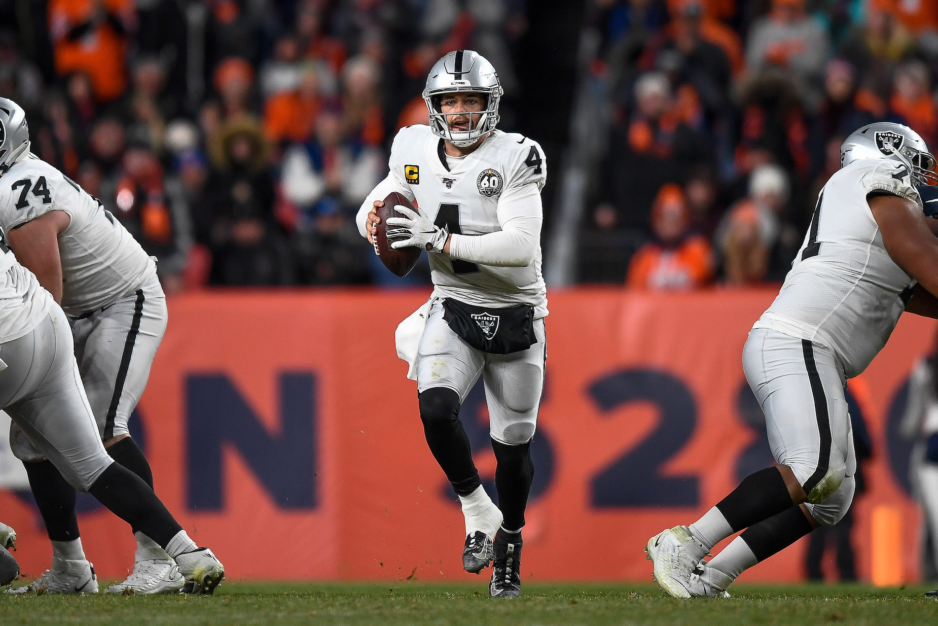Derek Carr won't opt-out of the 2020 season because he wants to prove his haters wrong.