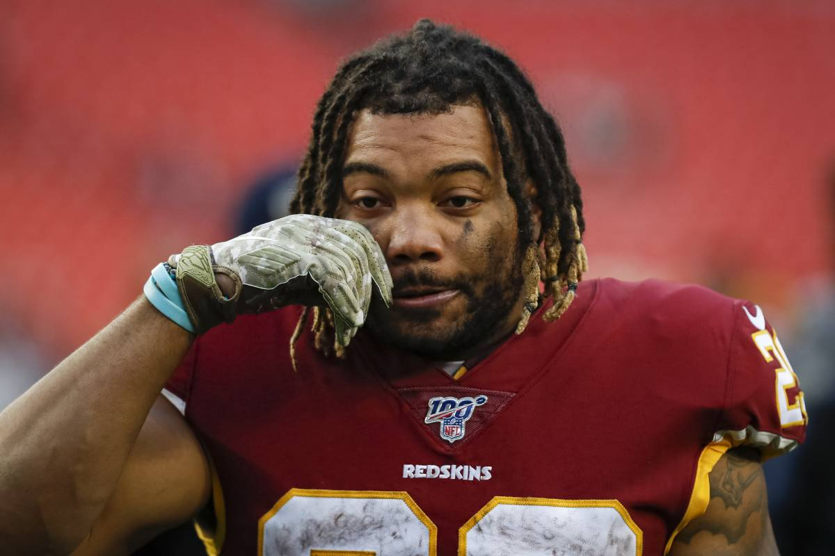 Former Washington Redskins running back Derrius Guice's career may be over after domestic violence charges.