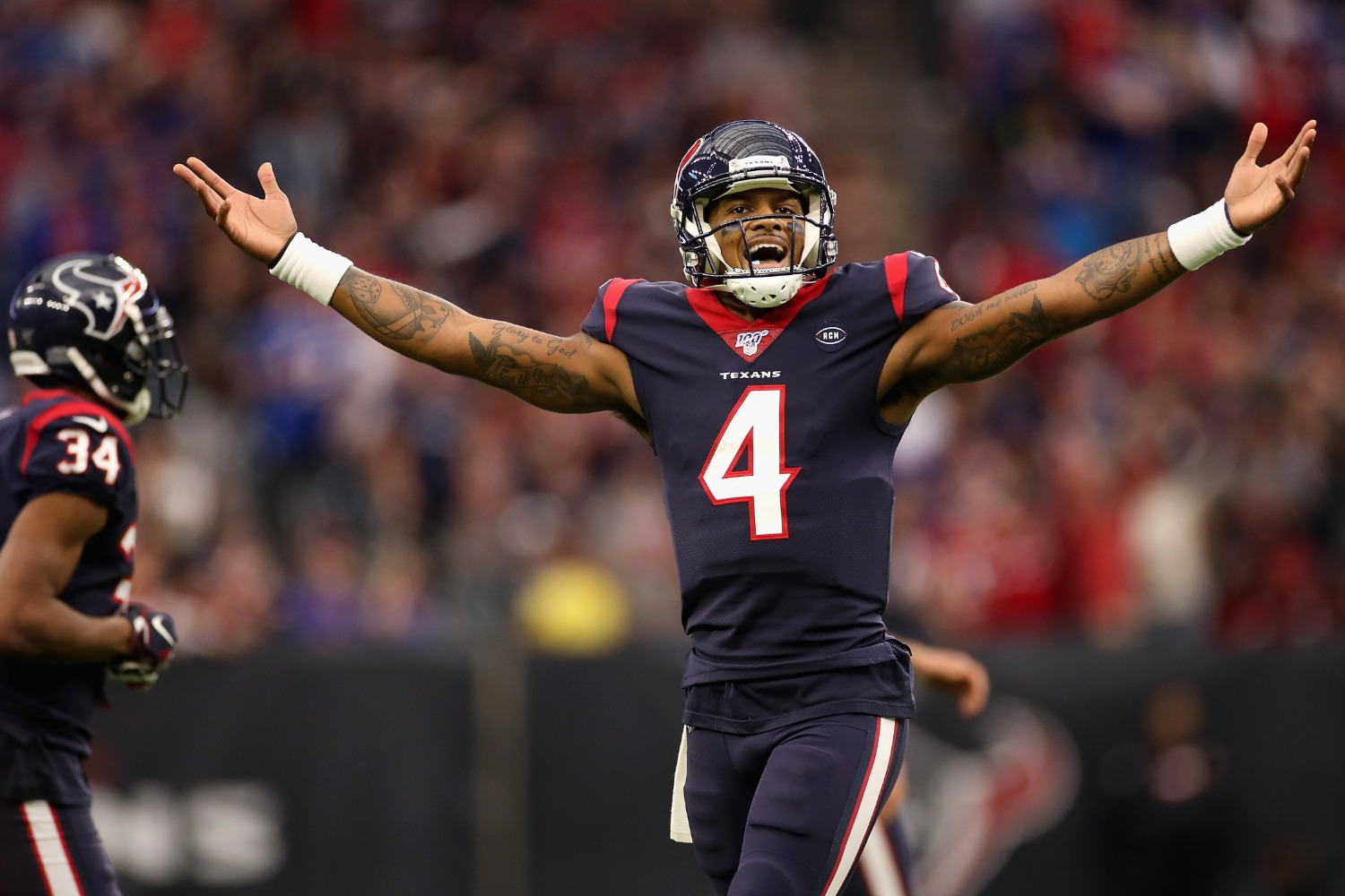 Deshaun Watson sent a powerful message about his Texans future on Friday.