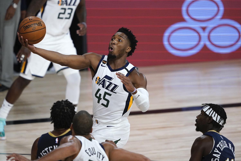 Utah Jazz's Donovan Mitchell