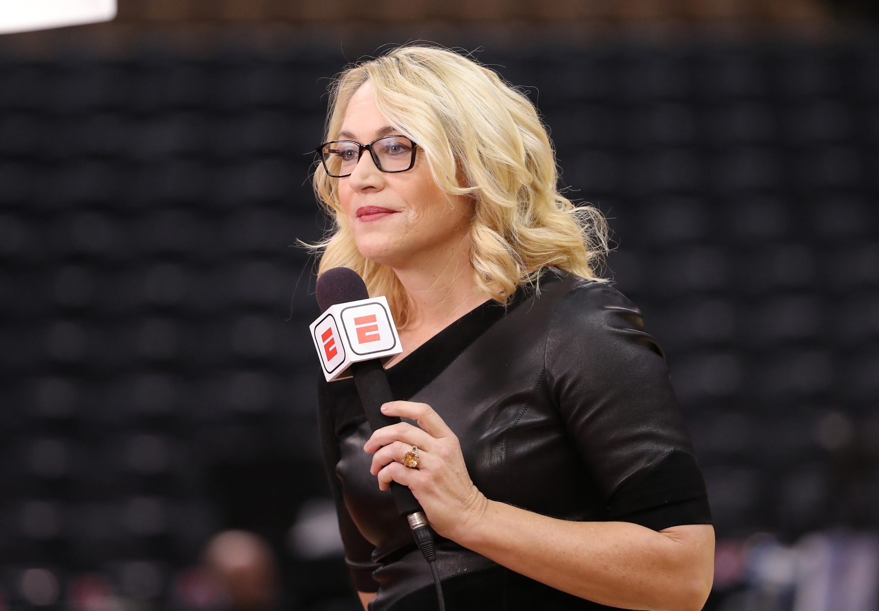 Doris Burke has had a legendary career at ESPN after having a successful basketball career. She recently clowned her ex-husband on TV.
