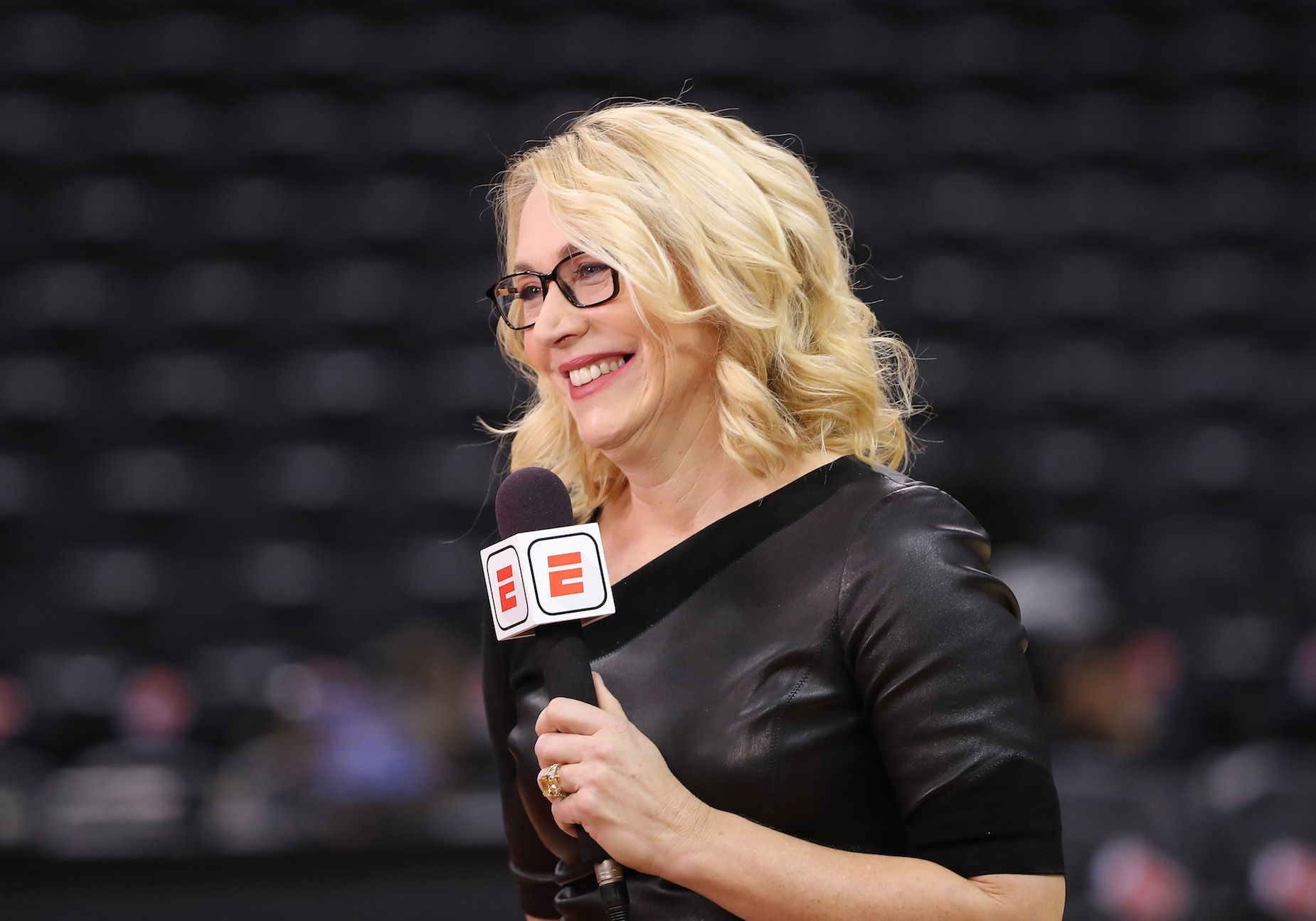 ESPN's Doris Burke was a talented basketball player before becoming a beloved broadcaster.
