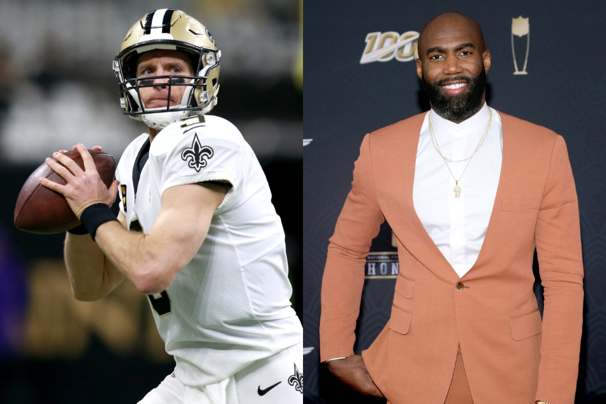 Saints defensive back Malcolm Jenkins (R) believes quarterback Drew Brees' anthem controversy brought the team closer.