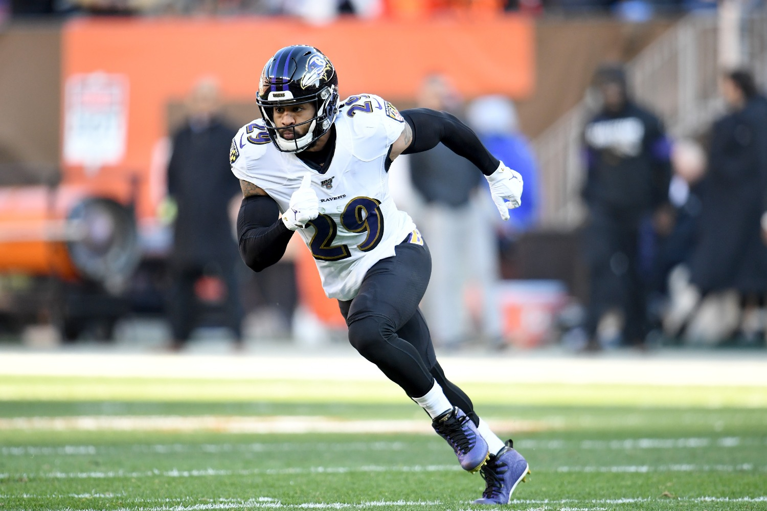 Earl Thomas just gained a potential landing spot with the Cleveland Browns losing rookie safety Grant Delpit for the year with a torn Achilles.