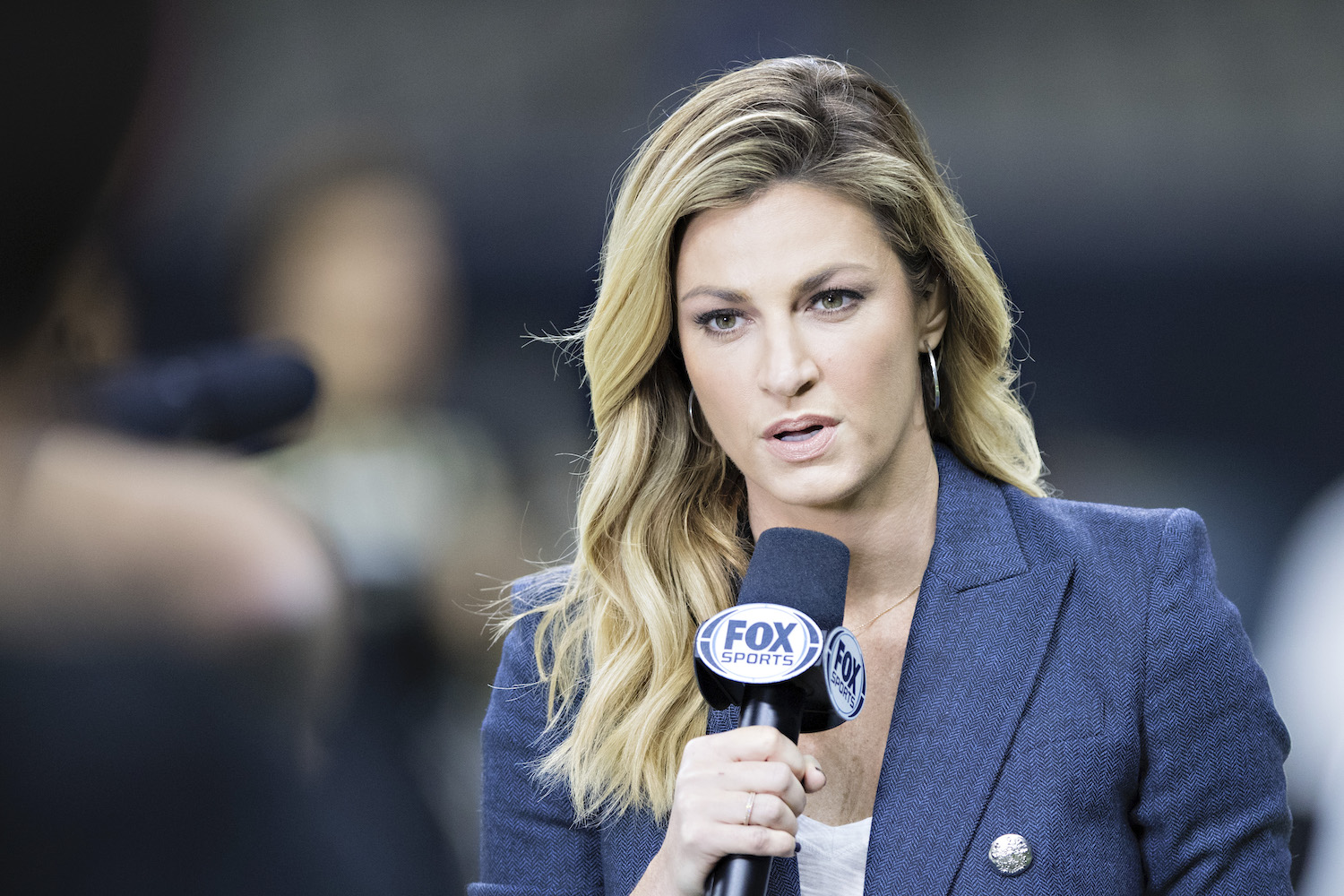Erin Andrews of Fox Sports