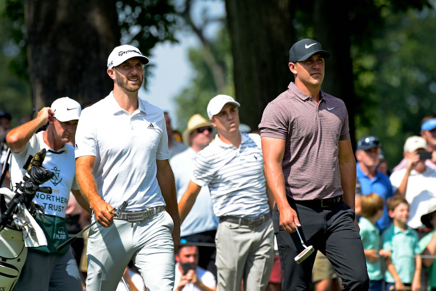 Brooks Koepka called out Dustin Johnson for his lack of majors a few weeks back, and Johnson responded with a historic run of golf.