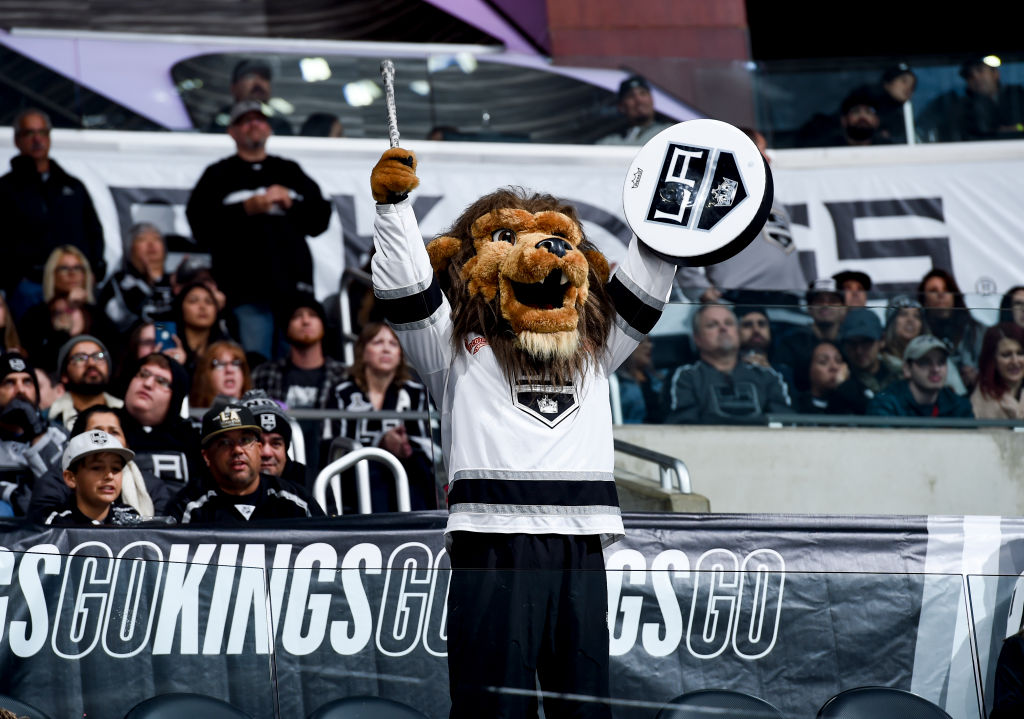 The LA Kings mascot is used to performing in a lion outfit, but he finds himself in a different suit after sexual harassment allegations.