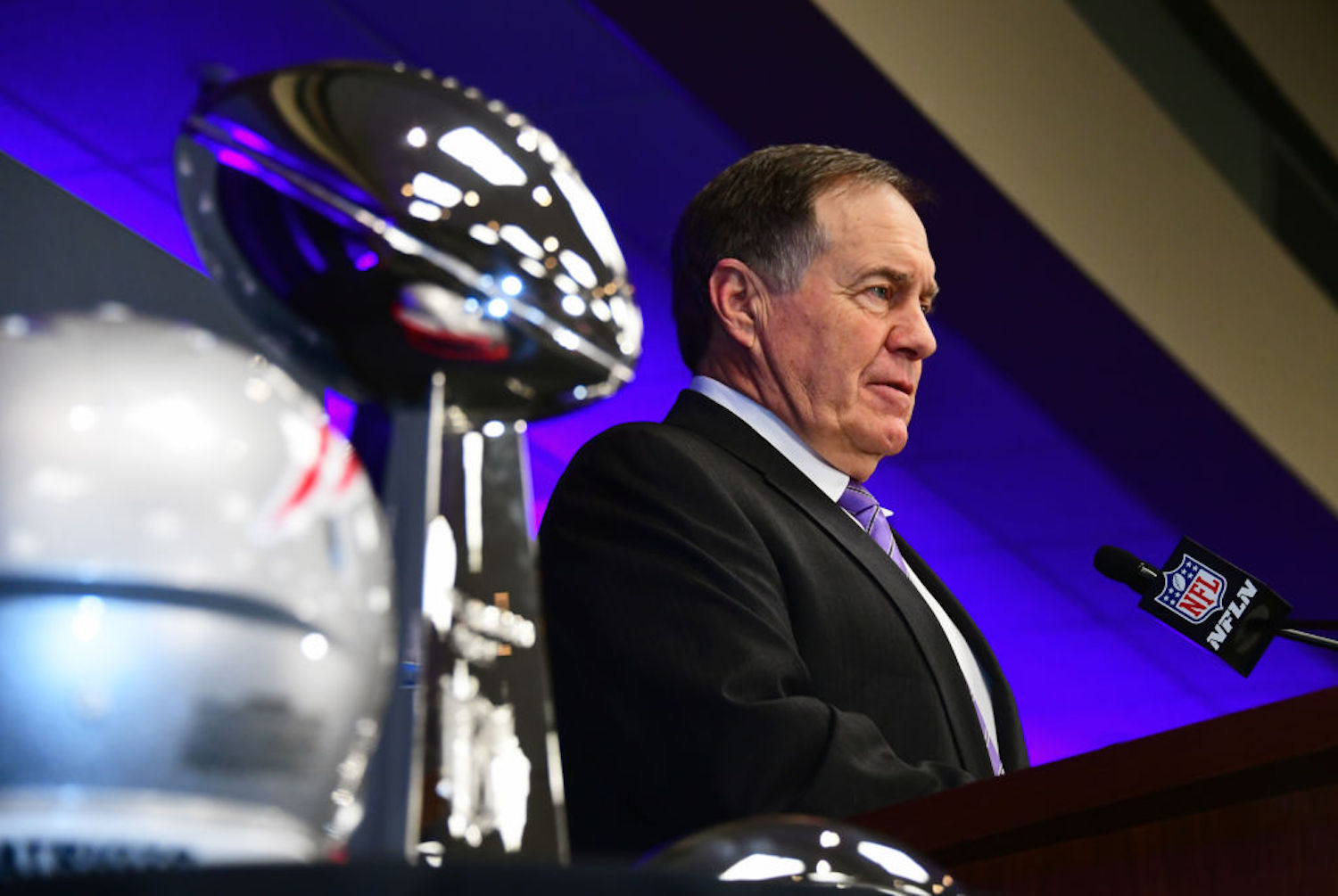 Bill Belichick always thinks outside the box, but his latest signing of a marine who hasn't played football in five years has fans stumped.