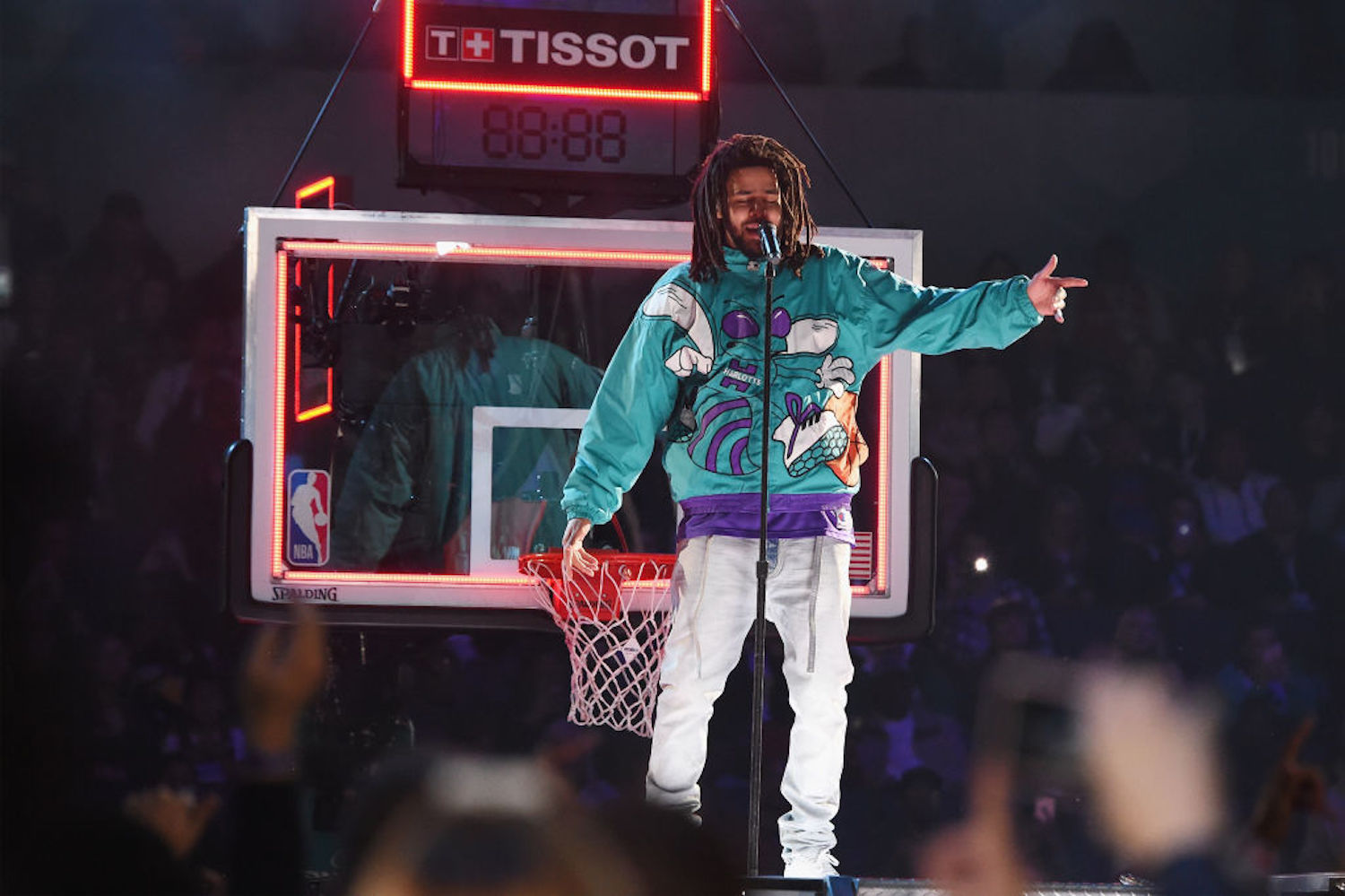 Rapper J. Cole has expressed interest in trying out for an NBA team, and the Detroit Pistons have taken him up on the offer.