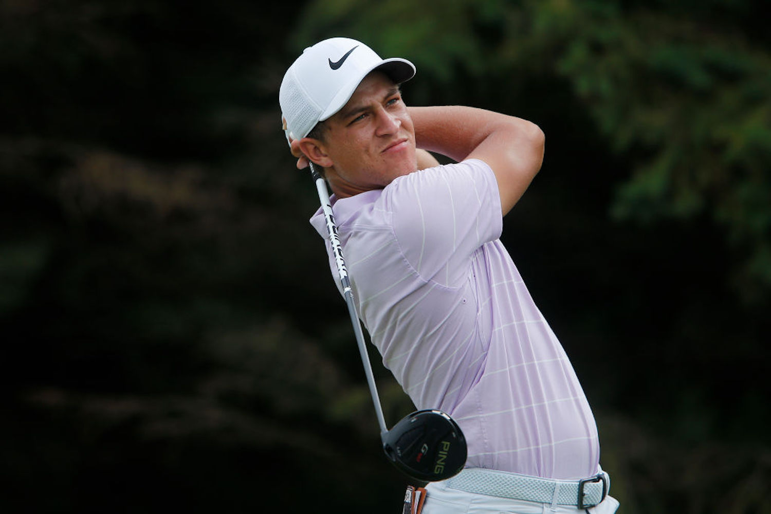 Bryson DeChambeau is the talk of the town for his massive drives, but Cameron Champ might be even more impressive off the tee.