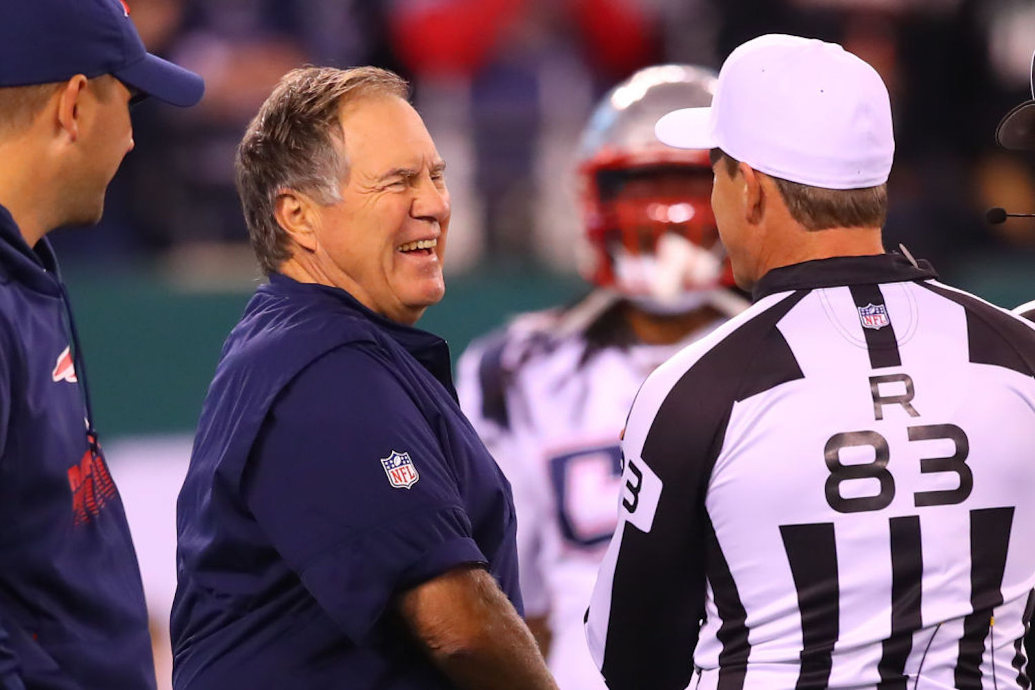 Bill Belichick is as cold and stoic as they come, but there actually is a way to make him laugh. Just ask Tom Brady.