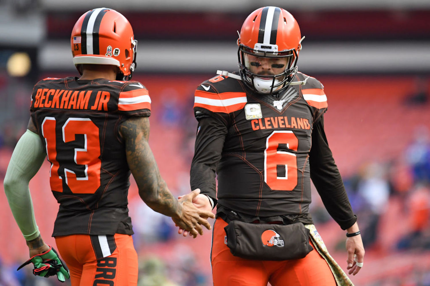 The Baker Mayfield-Odell Beckham Jr. connection sputtered all last season, but Beckham is convinced the tides will turn in 2020.