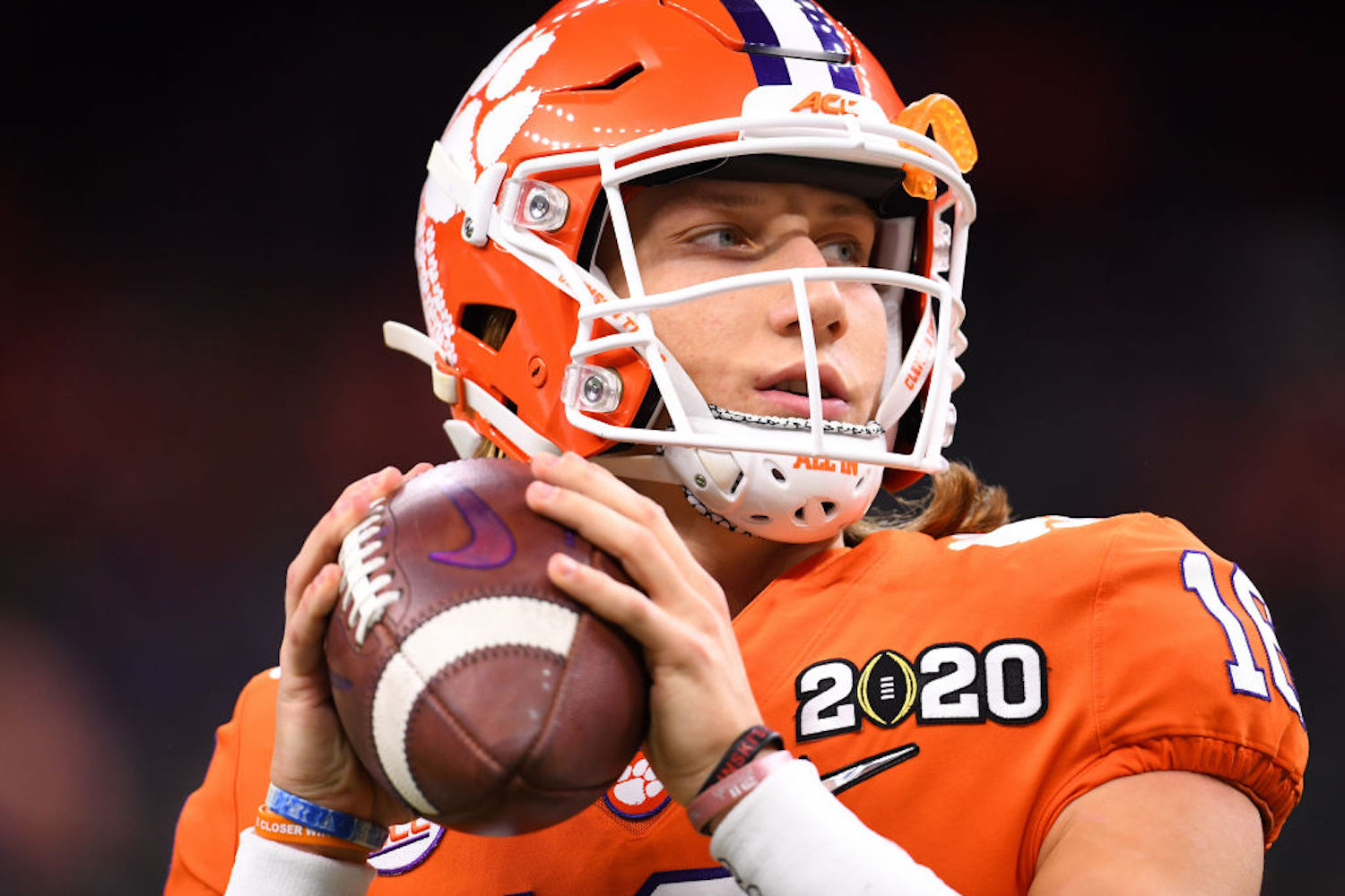 The 2020 College Football Season Just Received a Much-Needed Boost From Trevor Lawrence and Donald Trump