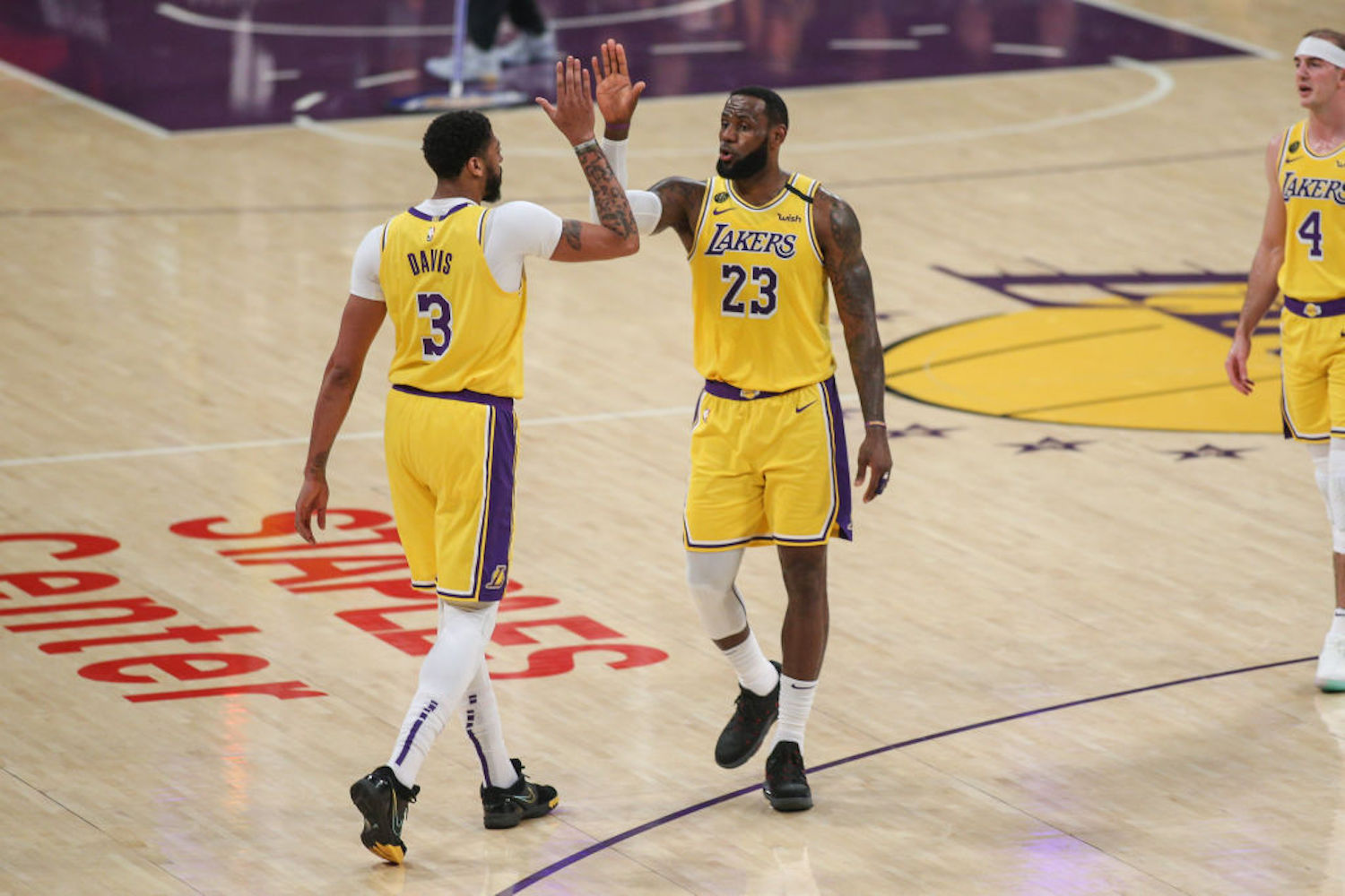 LeBron James has been considered the best player on every team he's played for, but he just passed the torch to a teammate for the first time.
