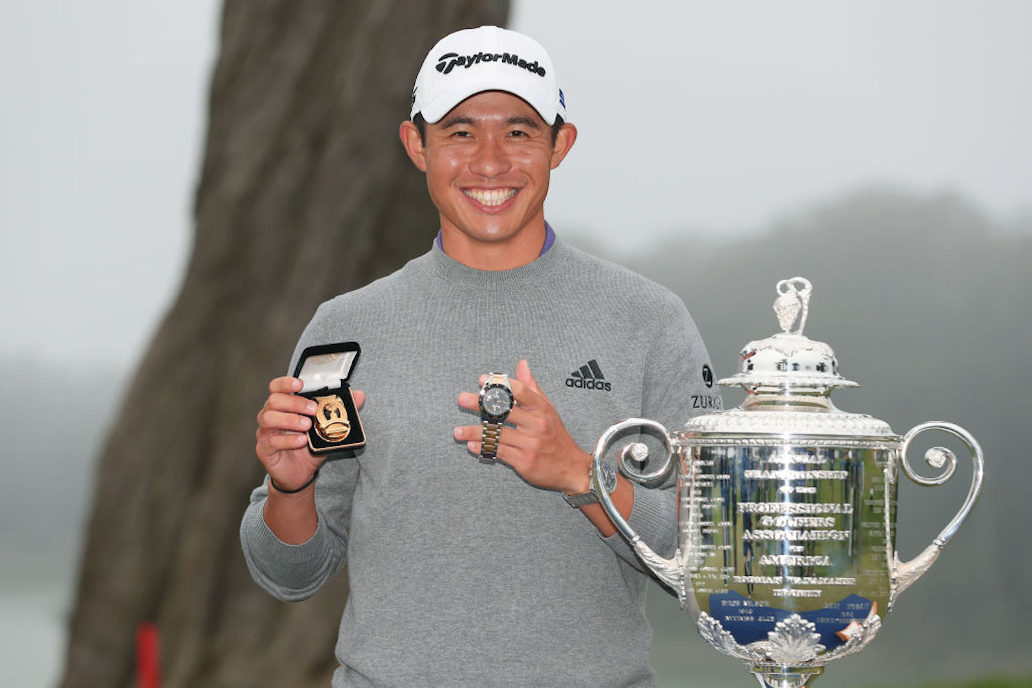Collin Morikawa earned $1.98 million for his win at the 2020 PGA Championship, but he won't even see more than $990,000 of it.