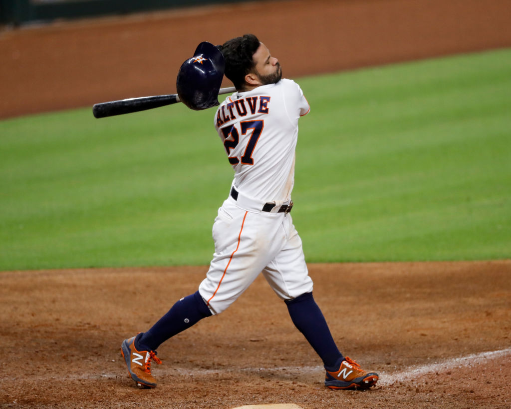 Let's check in on how Jose Altuve is playing a year after getting busted for stealing signs. Spoiler alert: it's not good.