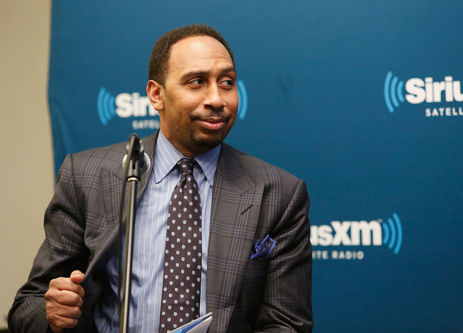 Stephen A. Smith isn't scared of anyone in a debate. He's so confident in his craft he believes he could debate his way to the White House.