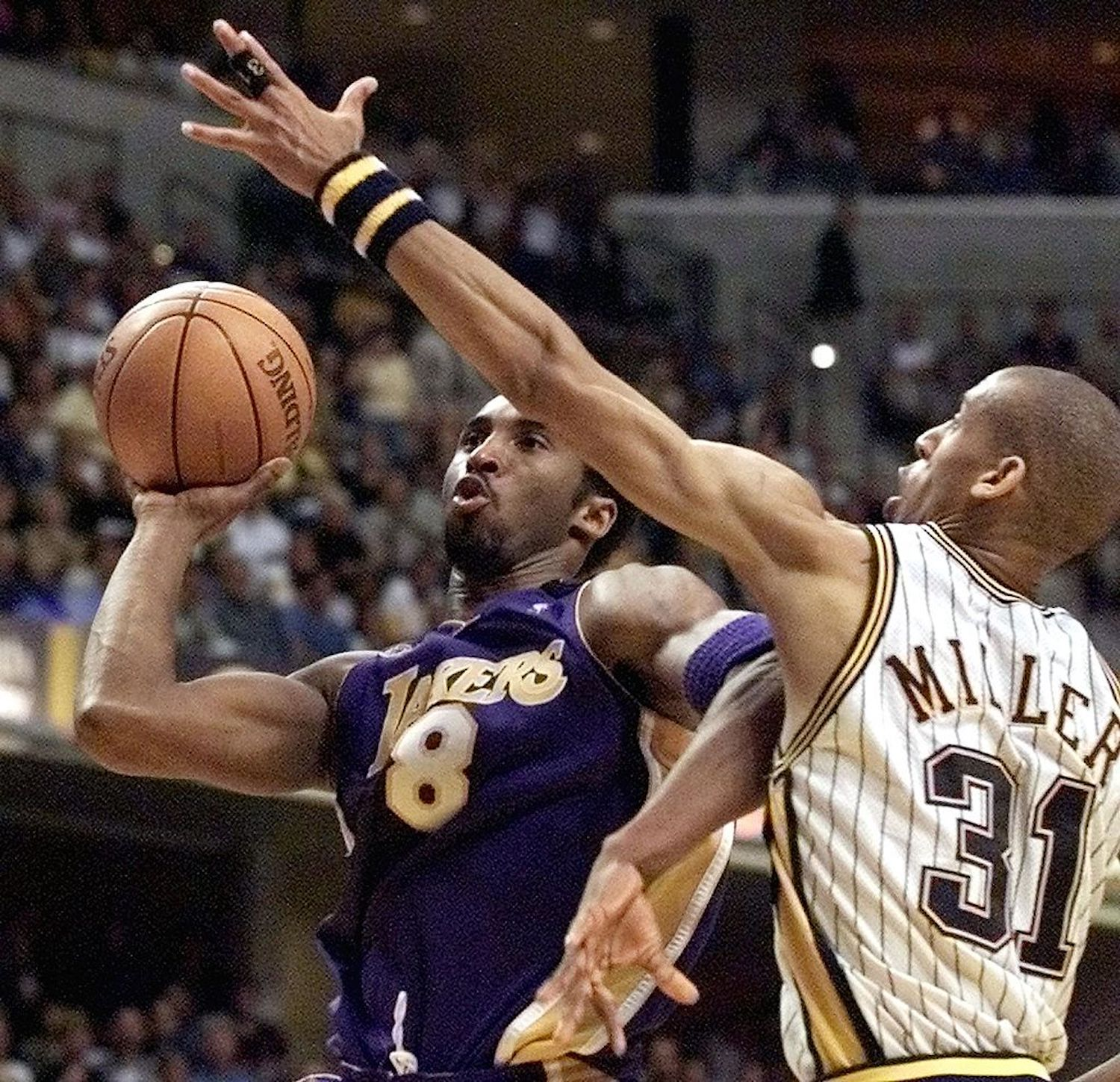 Kobe Bryant and Reggie Miller are the ultimate competitors, but one time they took it too far and threw fists on the court after the buzzer.