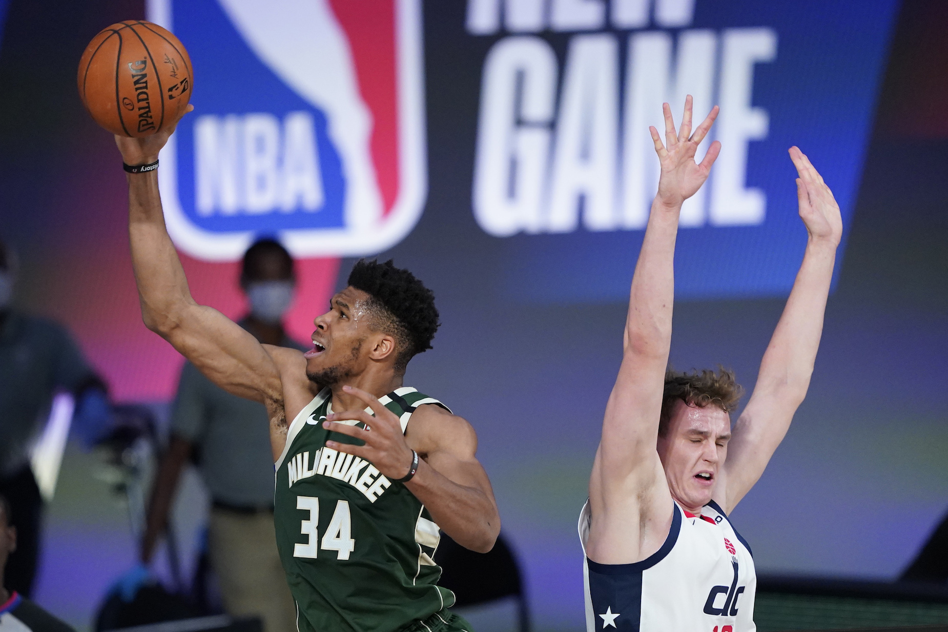 By headbutting his opponent, Giannis Antetokounmpo showed a human side to his game.