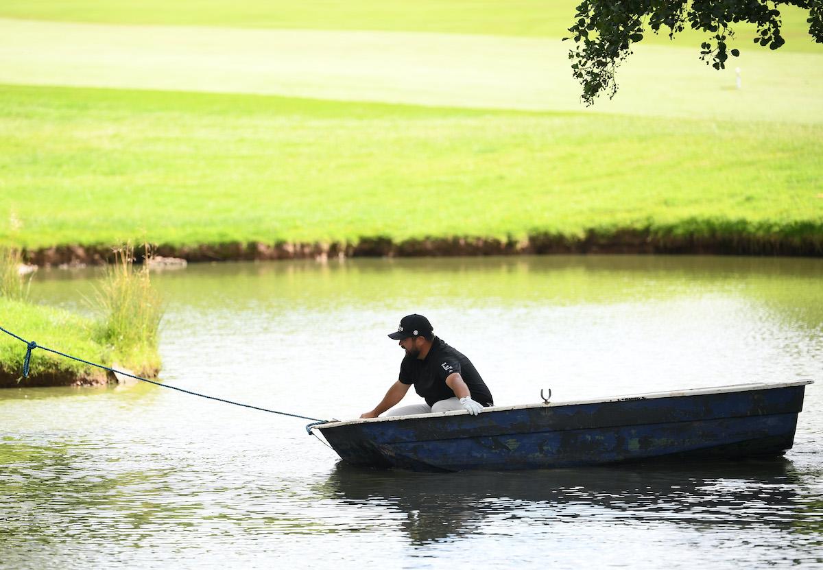 Golfer Joel Sjoholm
