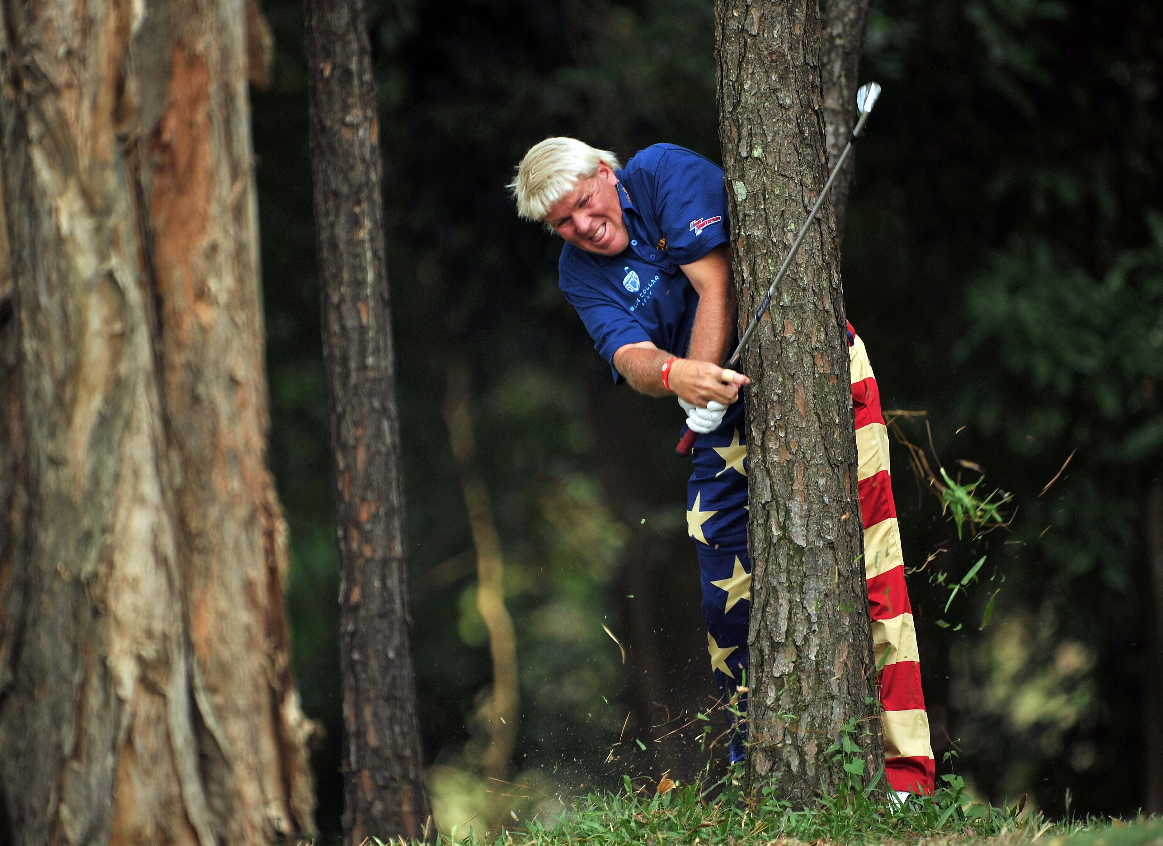 Golfer John Daly