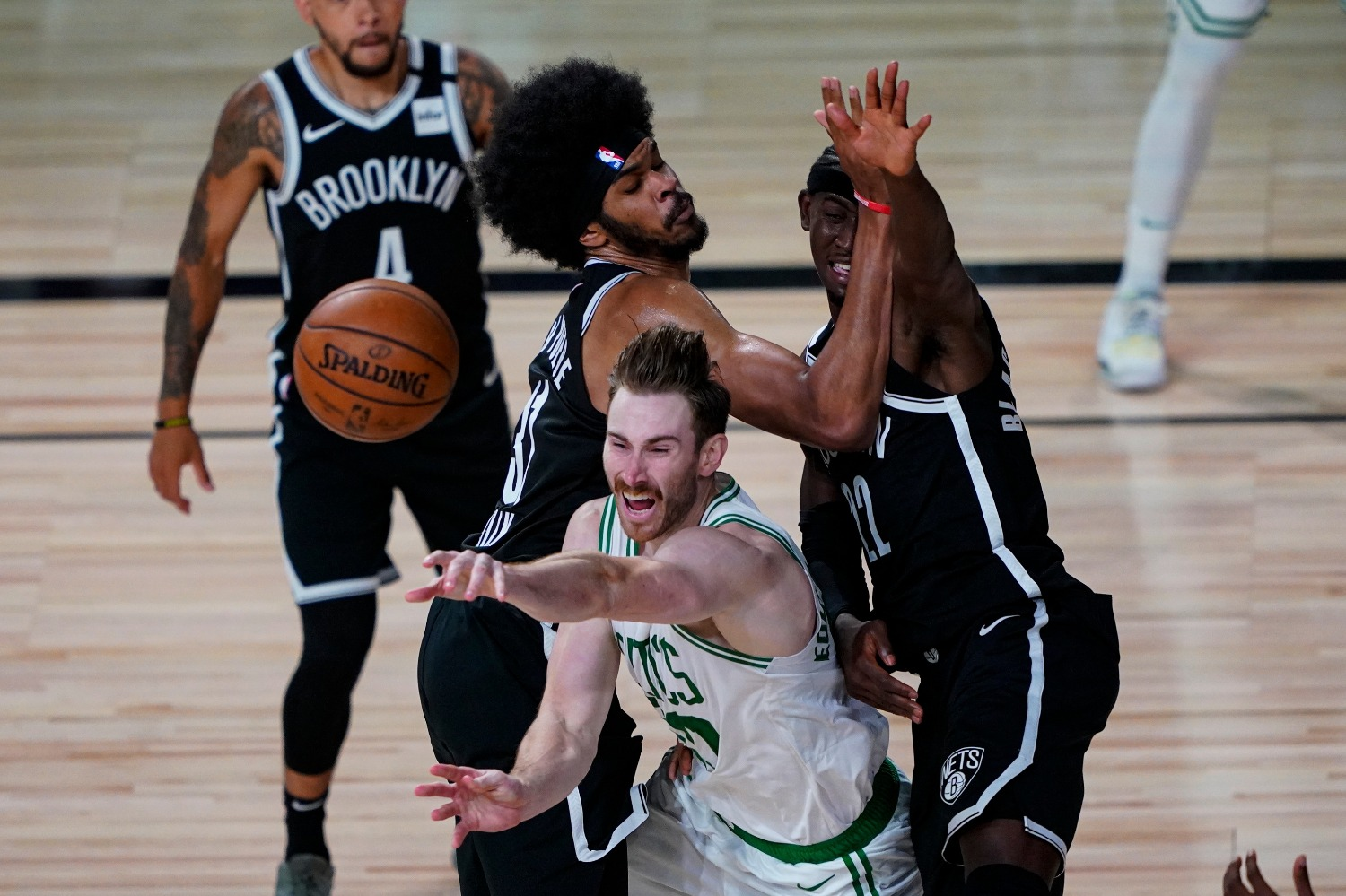 The Boston Celtics will be without Gordon Hayward for four weeks as they try to capture an NBA title.