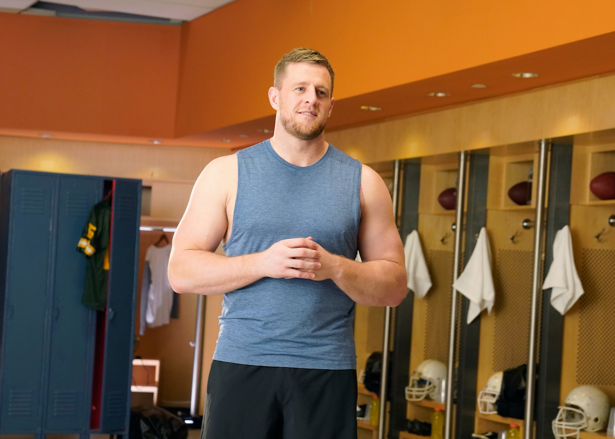 NFL player J.J. Watt