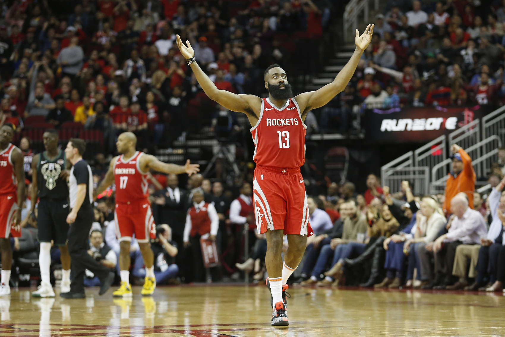 James Harden has become a great scorer with the Houston Rockets. He is actually close to becoming the team's all-time leading scorer.