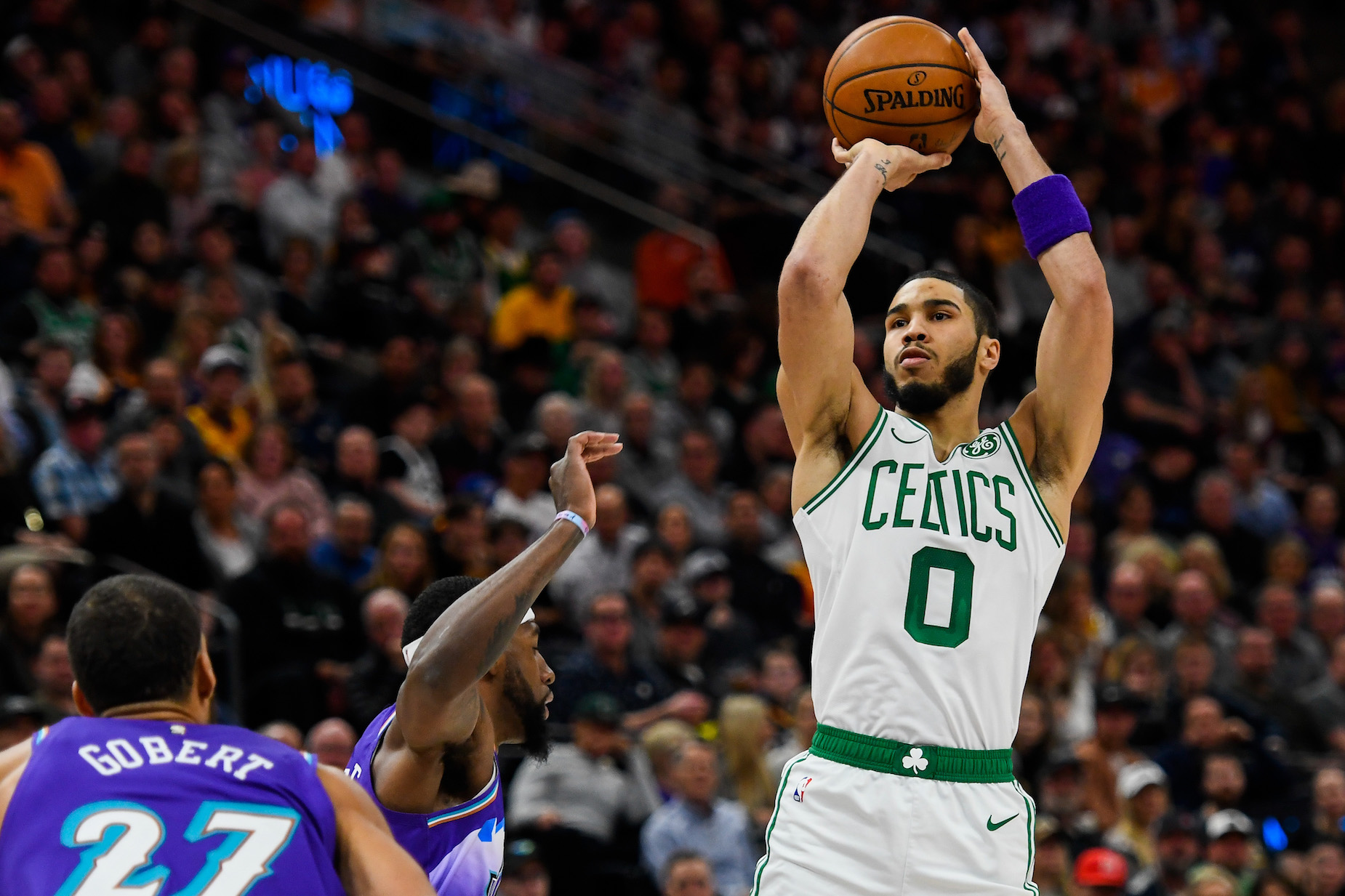 While Jayson Tatum has earned plenty of money in the NBA, he doesn't spend his Celtics salary.