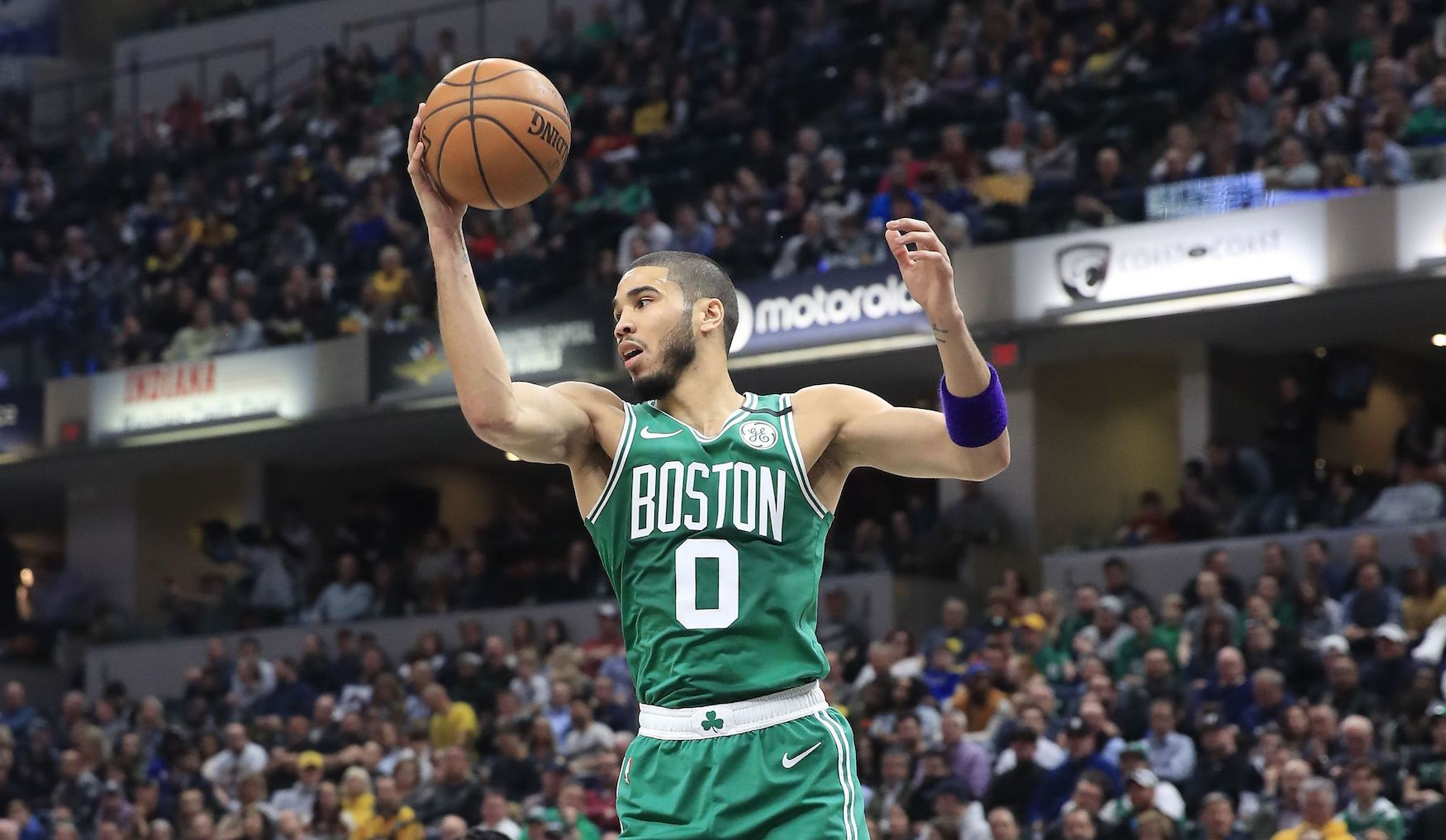 How much does Boston Celtics forward Jayson Tatum earn in salary?