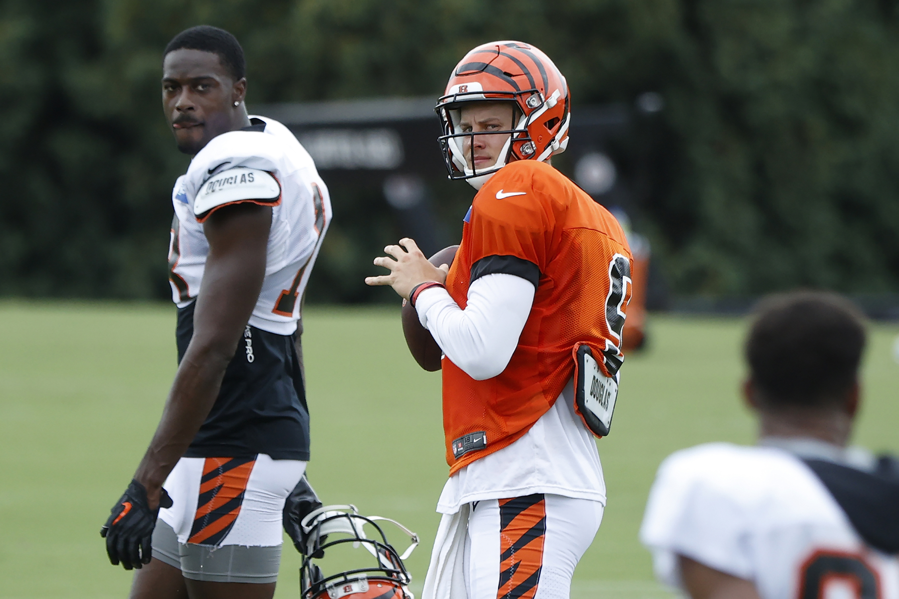 While many teams and athletes are protesting racism in America, Joe Burrow and the Bengals just delivered a powerful message.