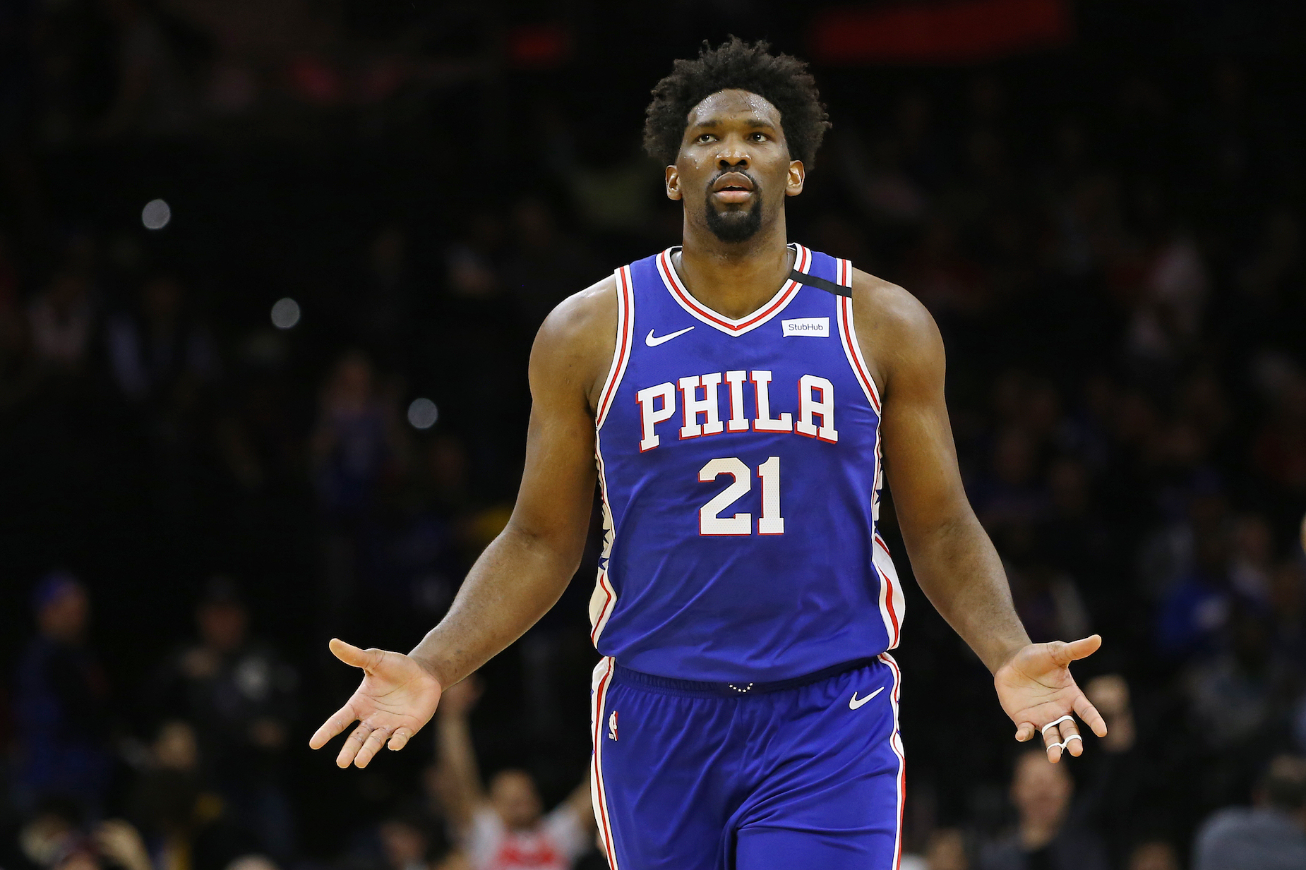 76ers star Joel Embiid used to have the worst possible diet.