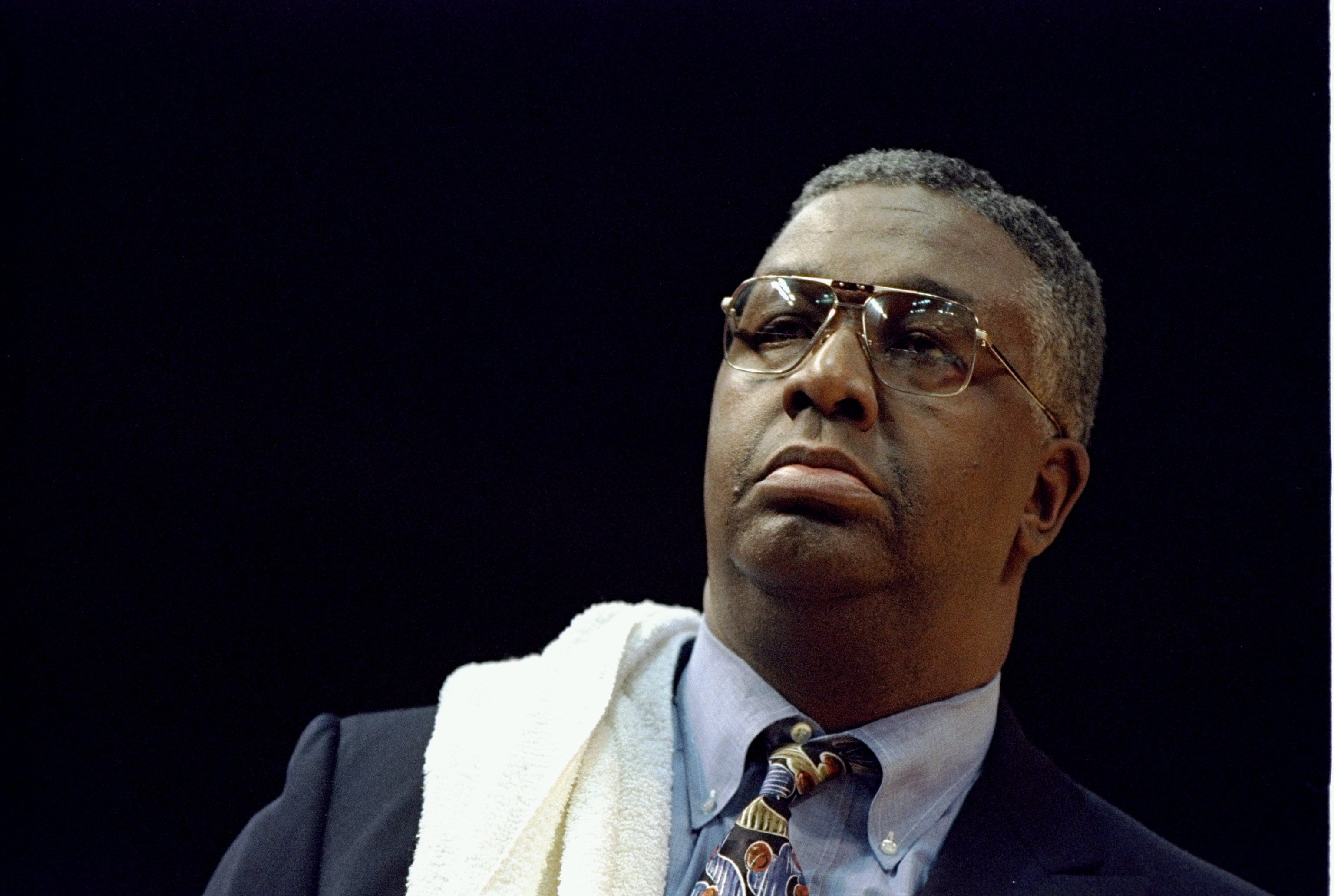 John Thompson coached Georgetown's men's basketball team for nearly 30 years.