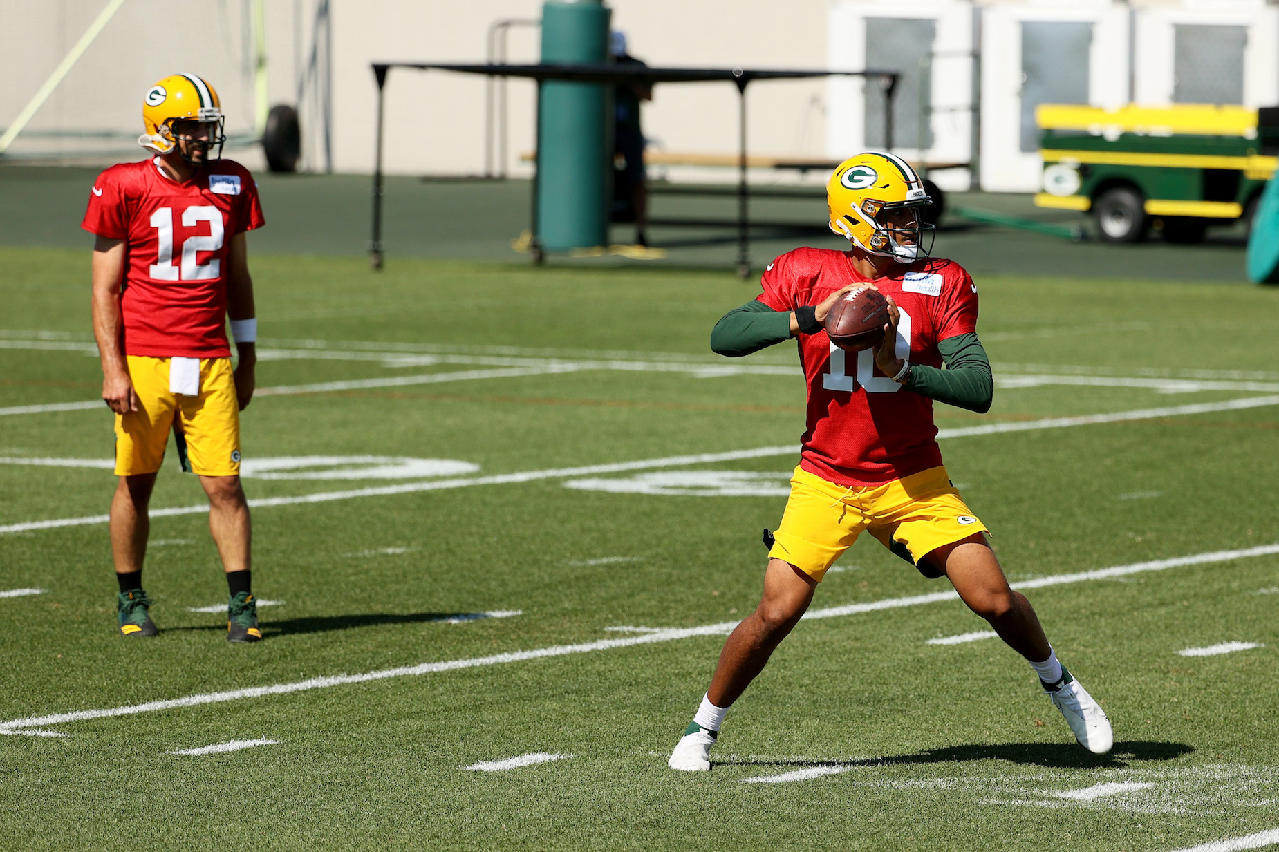 Forgot replacing Aaron Rodgers, Jordan Love might not even be the Green Bay Packers backup quarterback this season.
