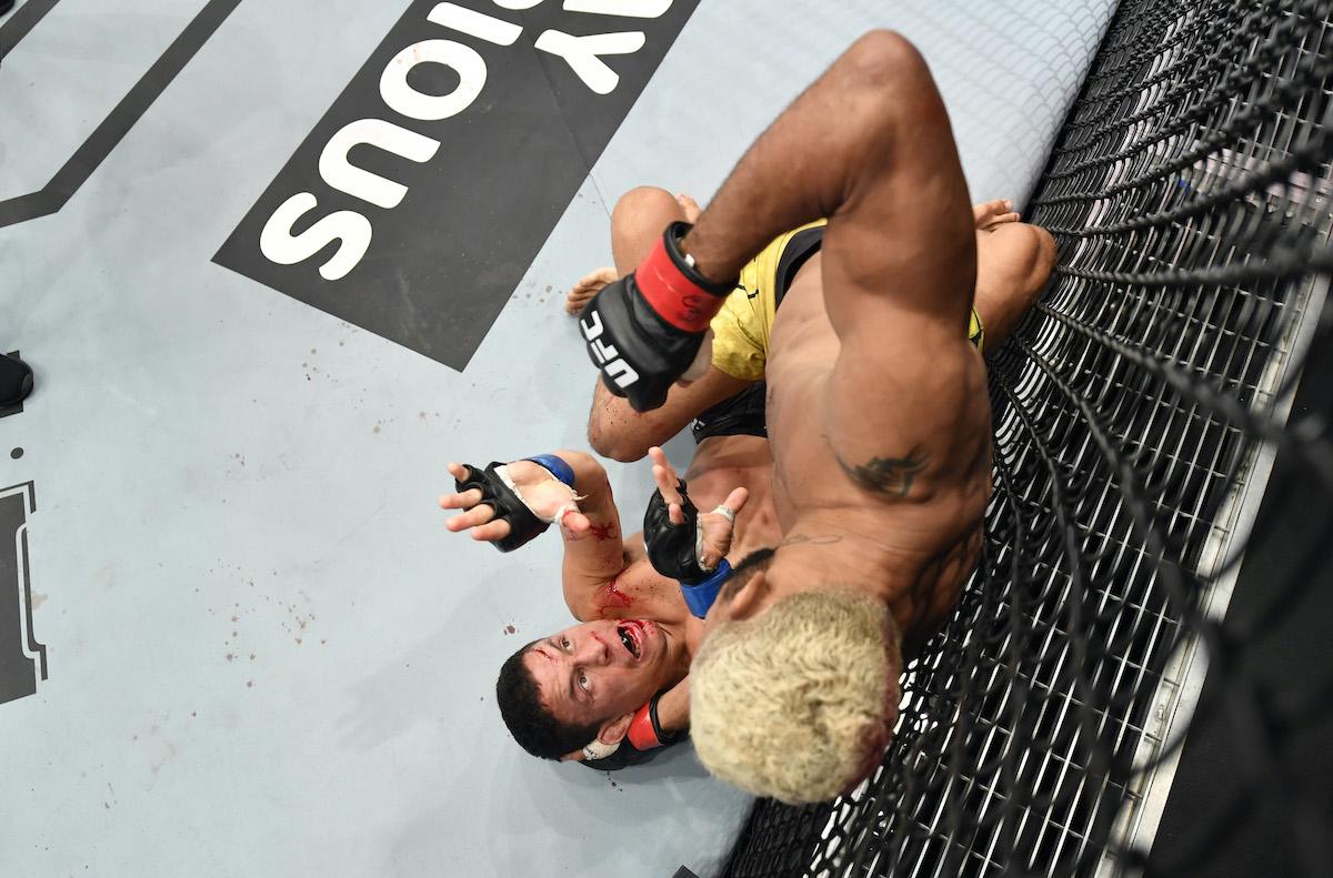 Joseph Benavidez gets punched