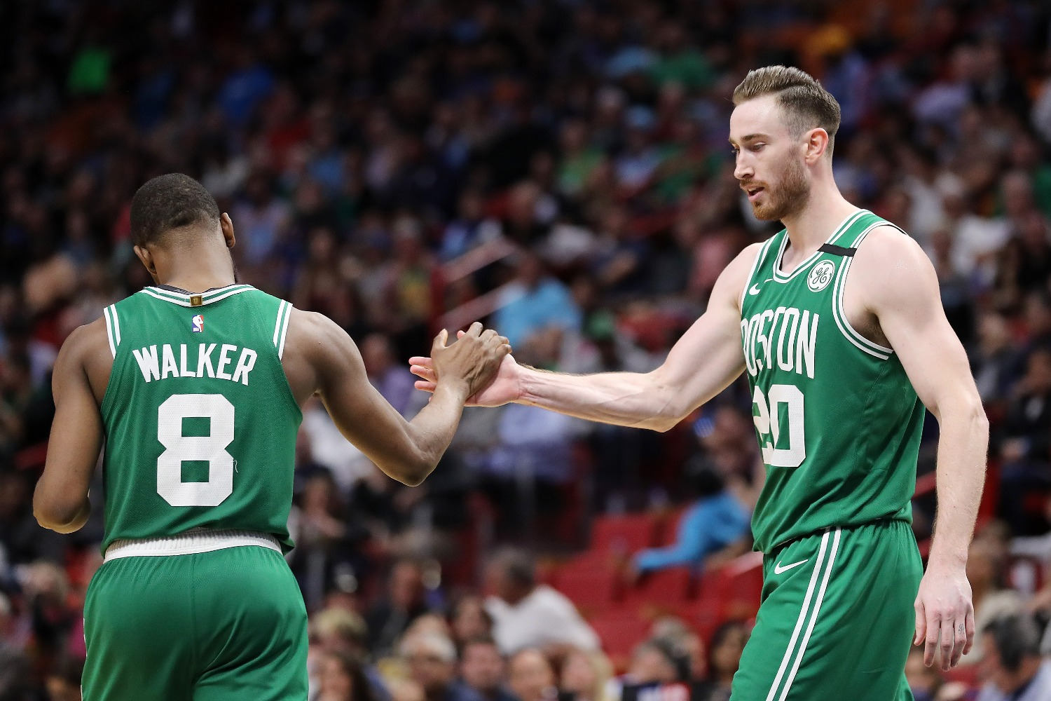 The Boston Celtics set a rare scoring record even with Kemba Walker sidelined with a knee injury.