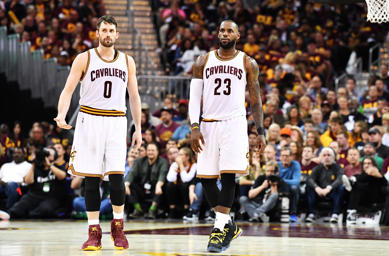 Kevin Love was absolutely dominant on the Timberwolves. However, he had to change everything to play with LeBron James on the Cavaliers.