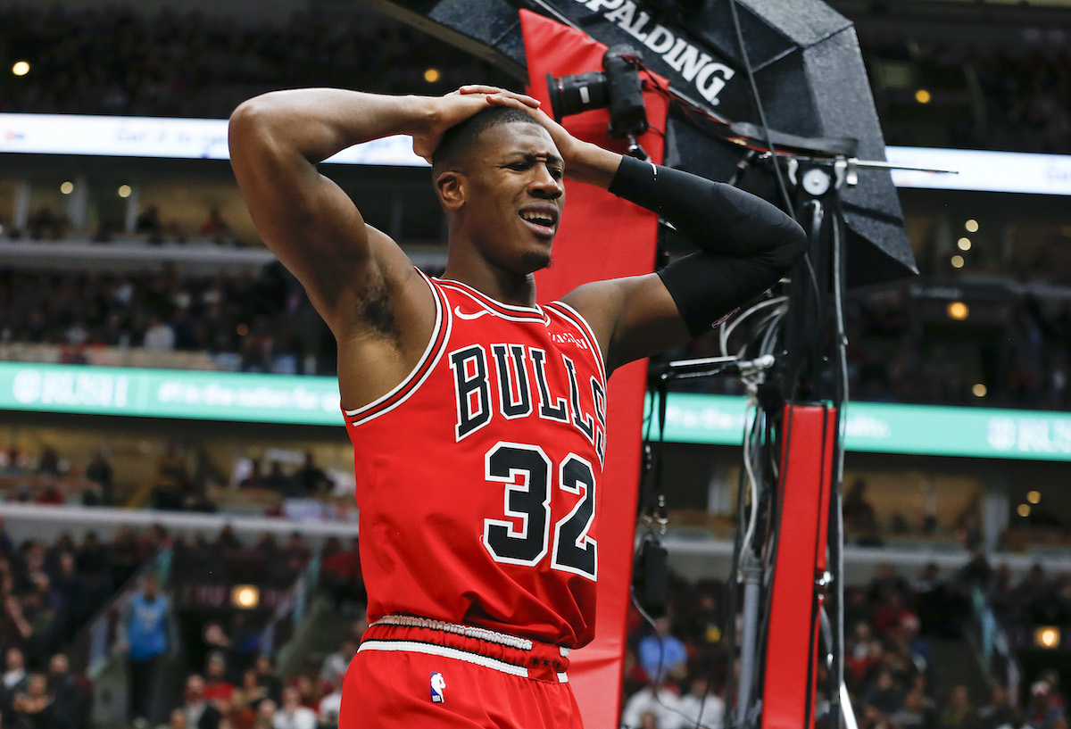 The Chicago Bulls' Kris Dunn