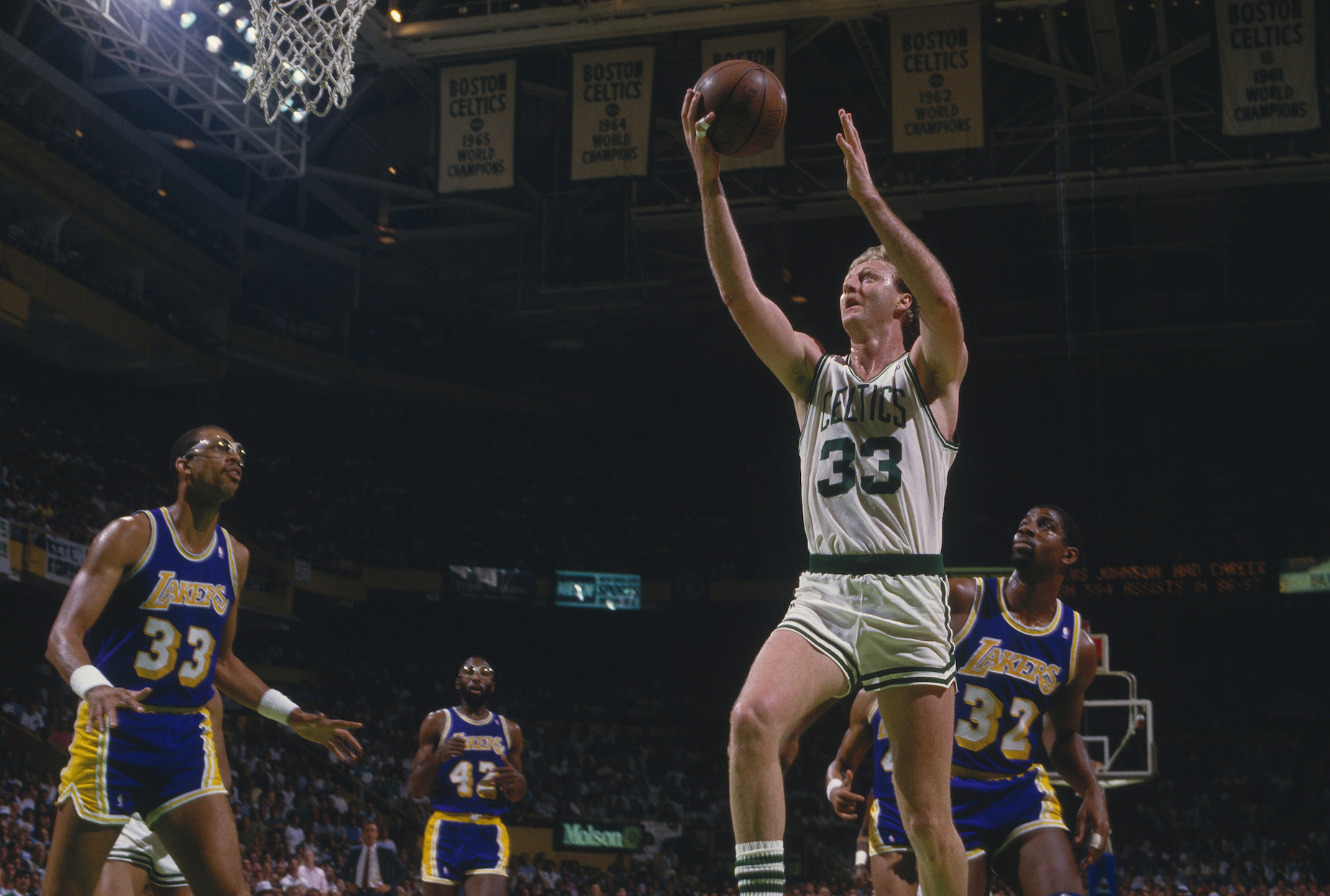 Larry Bird thought it was disrespectful when other teams would have white players defend against him.